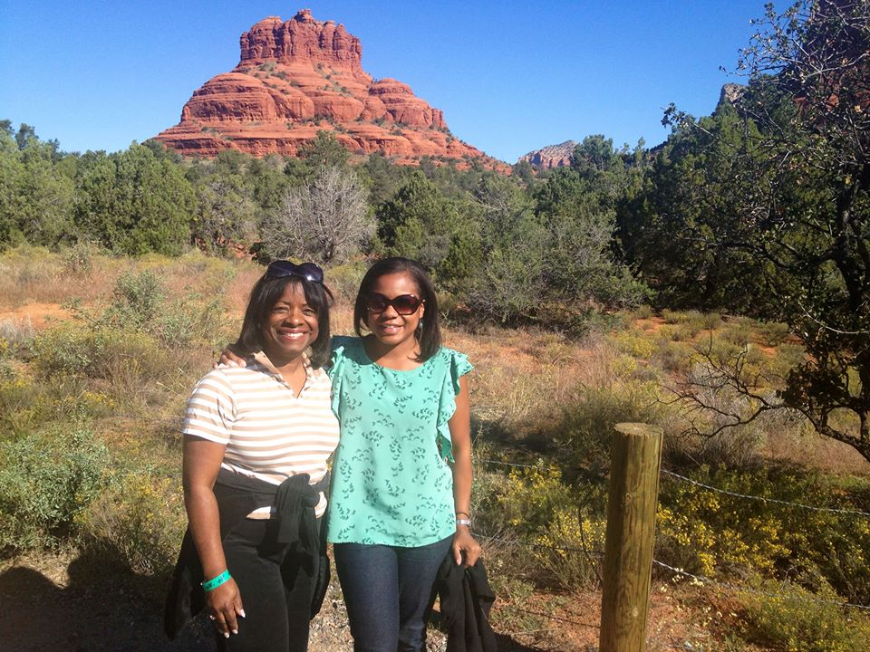 Making the most of our trip with a tour of Sedona.