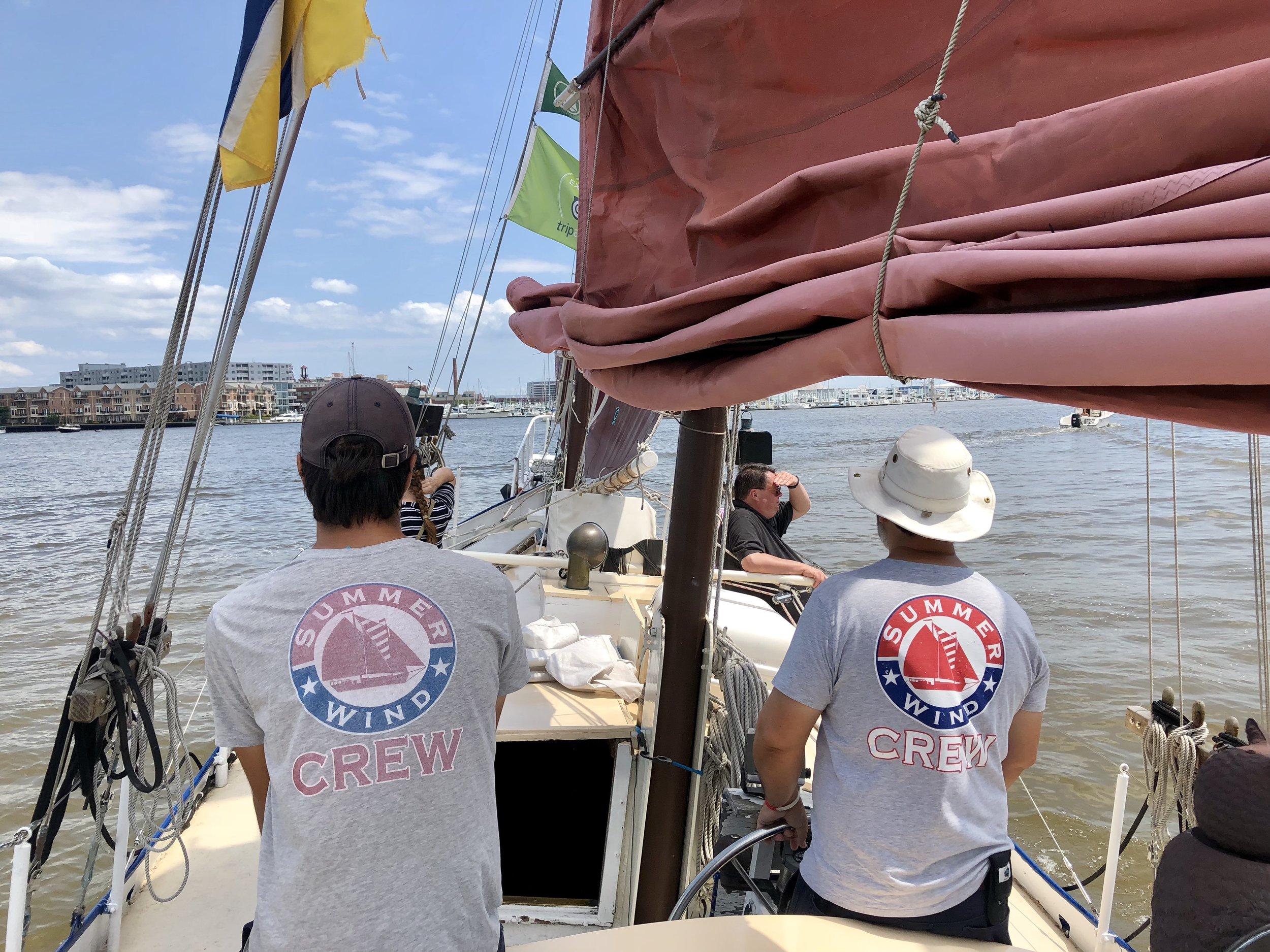 Baltimore sailing
