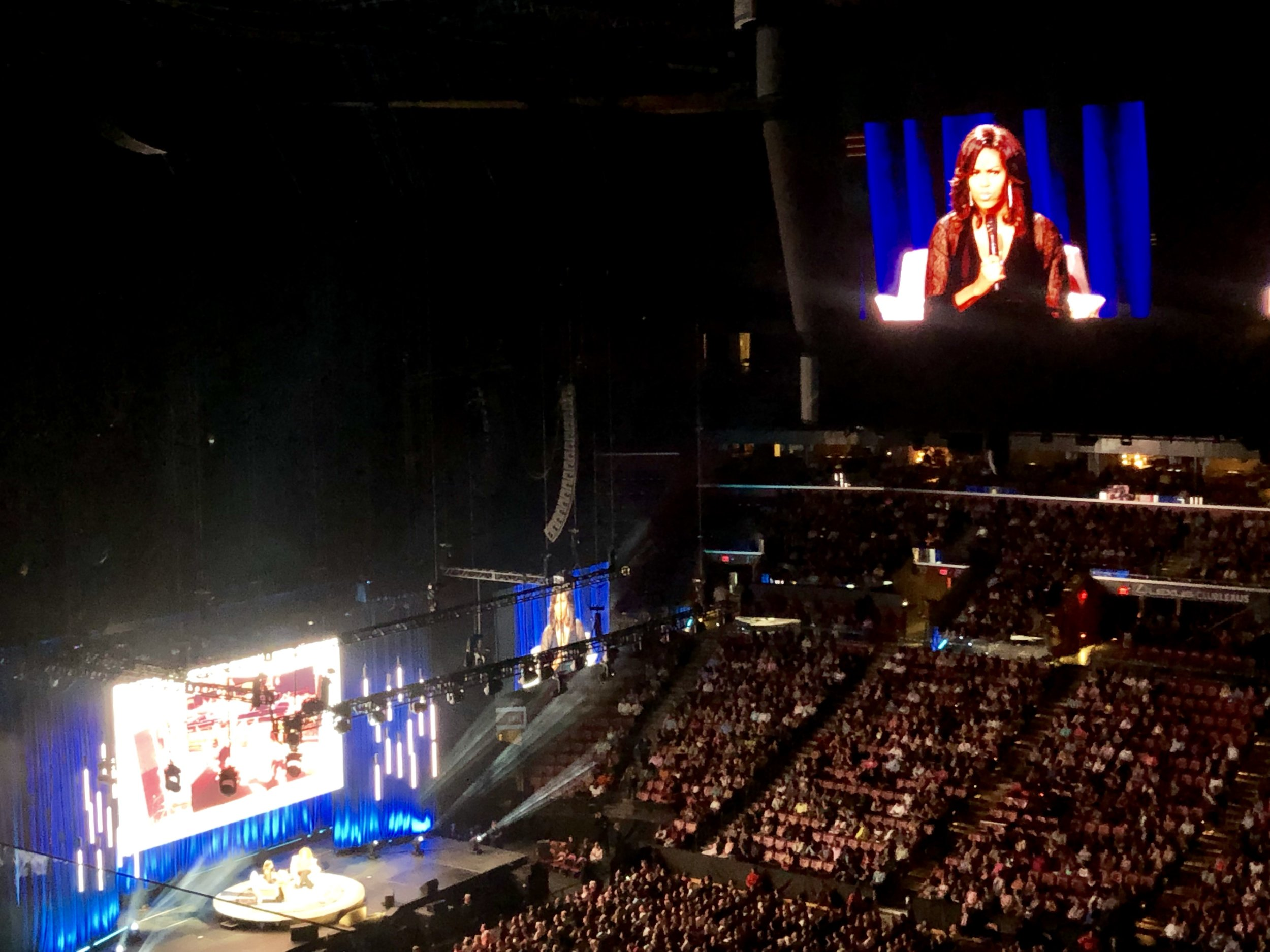 Michelle Obama BB&T Center