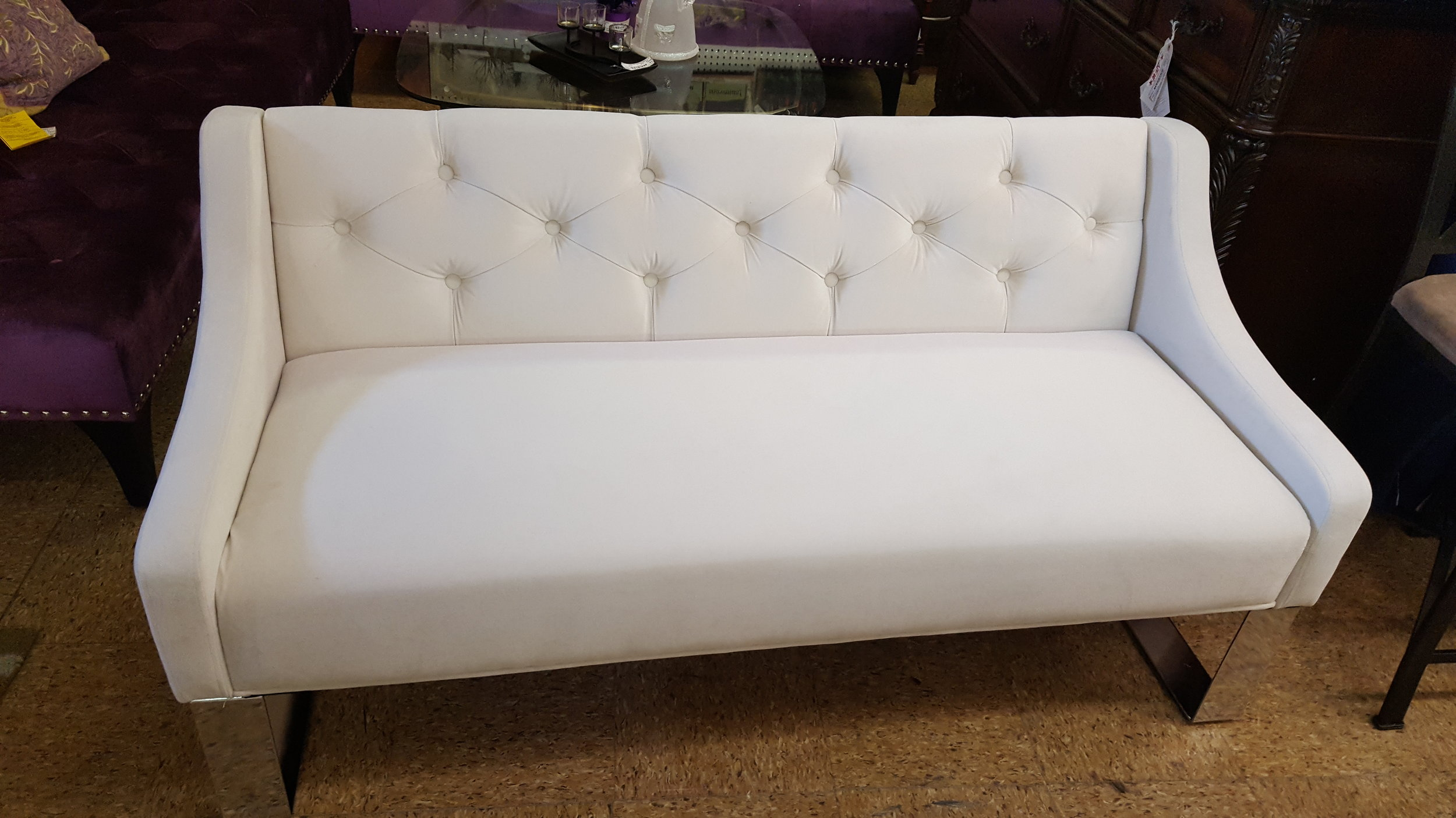 Couches here are beautiful.