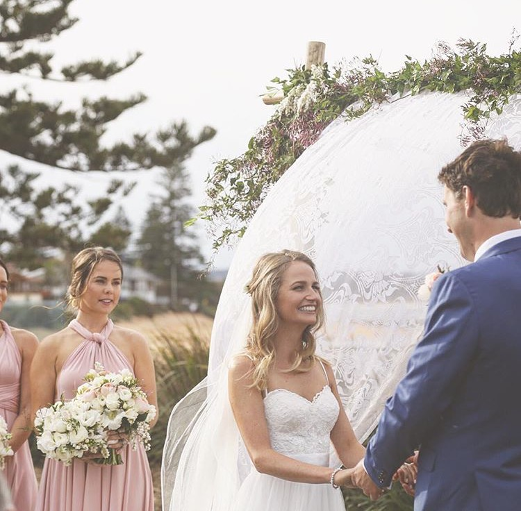 Long Reef Golf Club - September 2016  Thank you so much for creating our beautiful flowers, I absolutely loved them!! The room looked amazing and I was blown away by our Bridal table!! Better than anything I could have imagined.  Lara + Jimmy