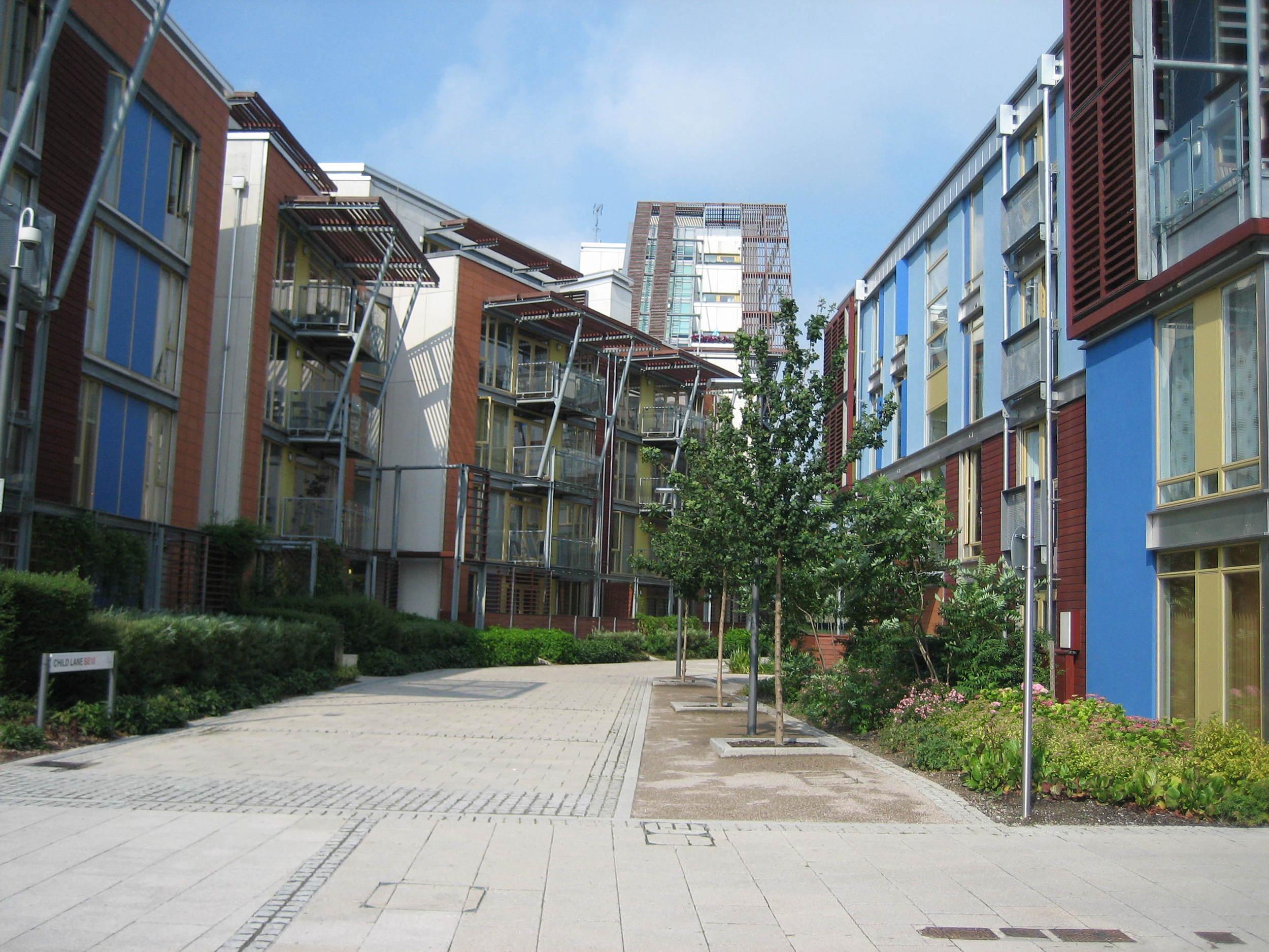 Greenwich Millennium Village - Home Zone Area.JPG