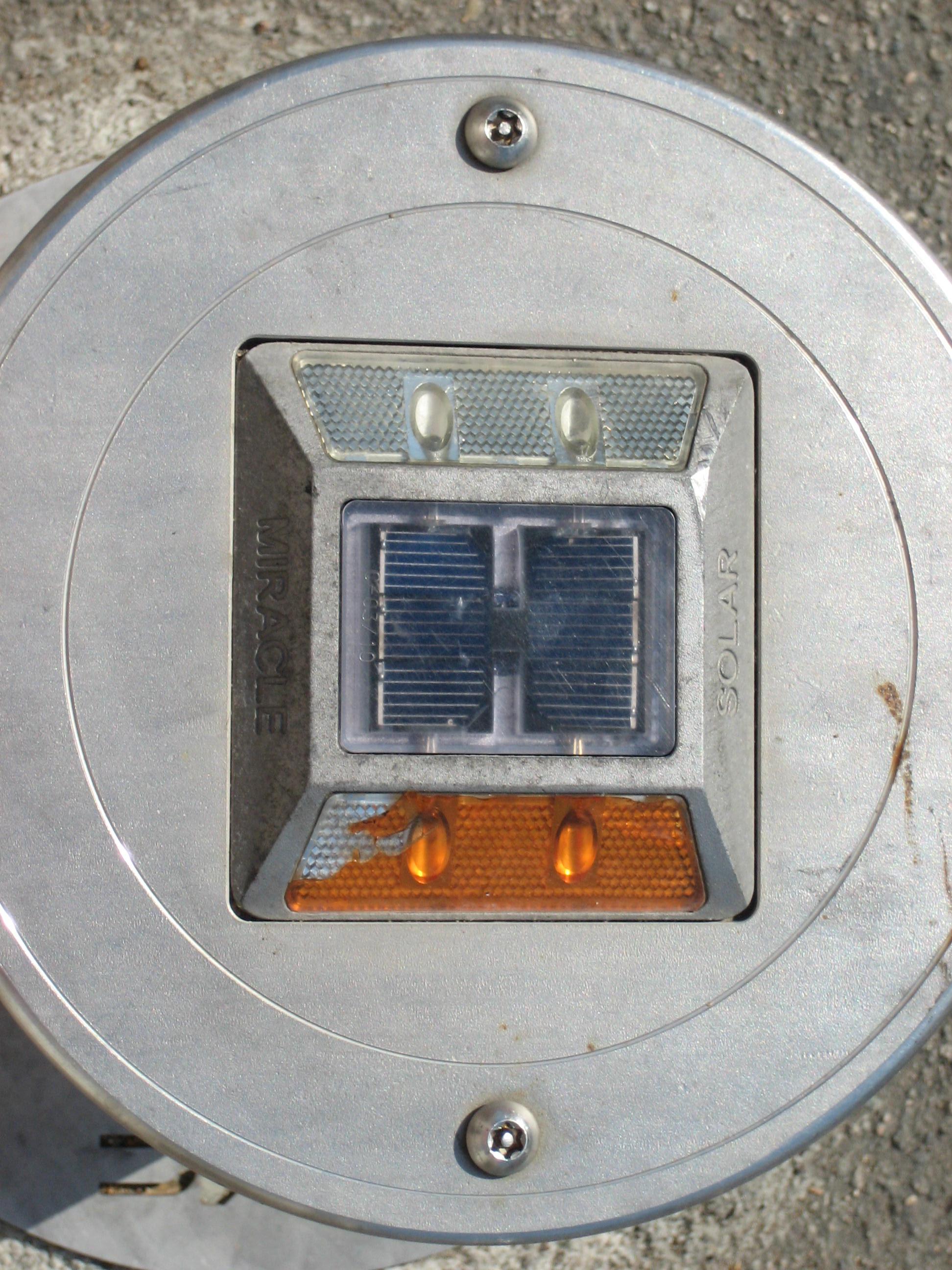 Solar powered reflectors - off-grid solution.JPG