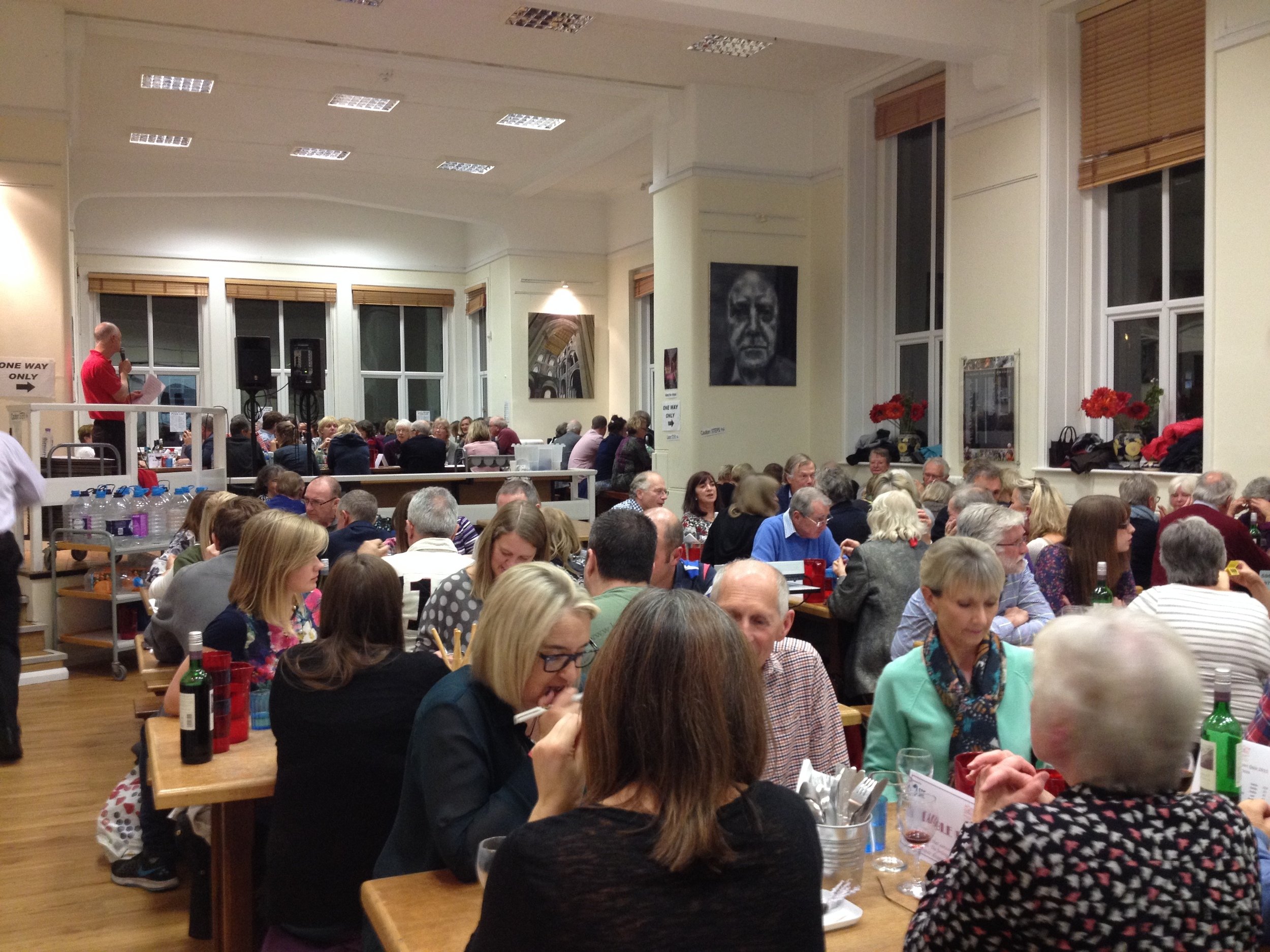 SRE's sponsored charity quiz night for Home-Start Butser