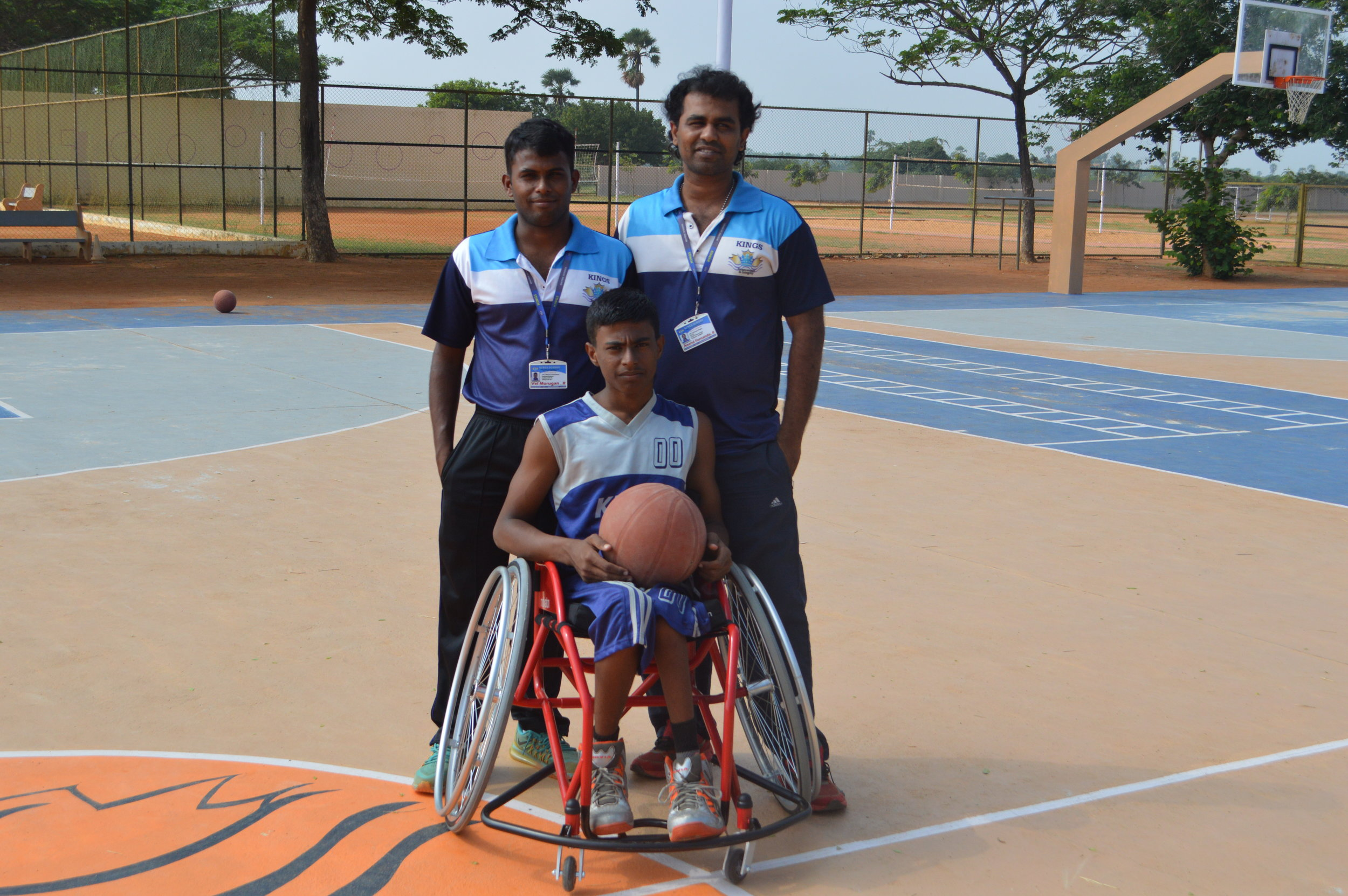 Jeya Selvan selected for the India Wheelchair Basket Ball Team