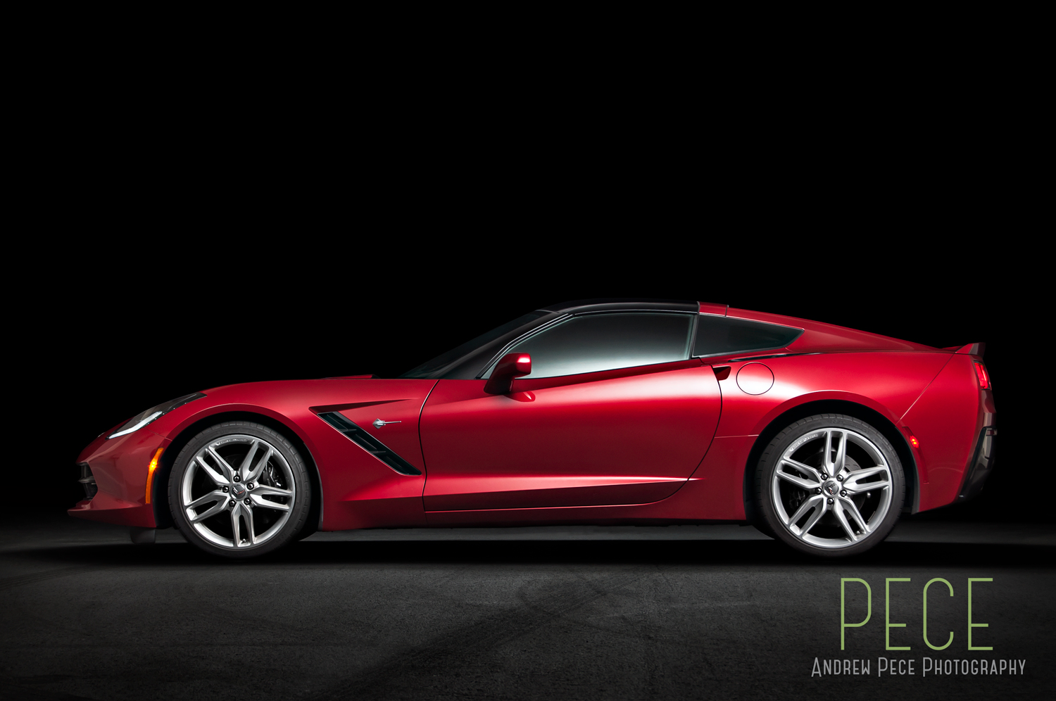 Corvette 2015 C7 Crystal Red Tintcoat