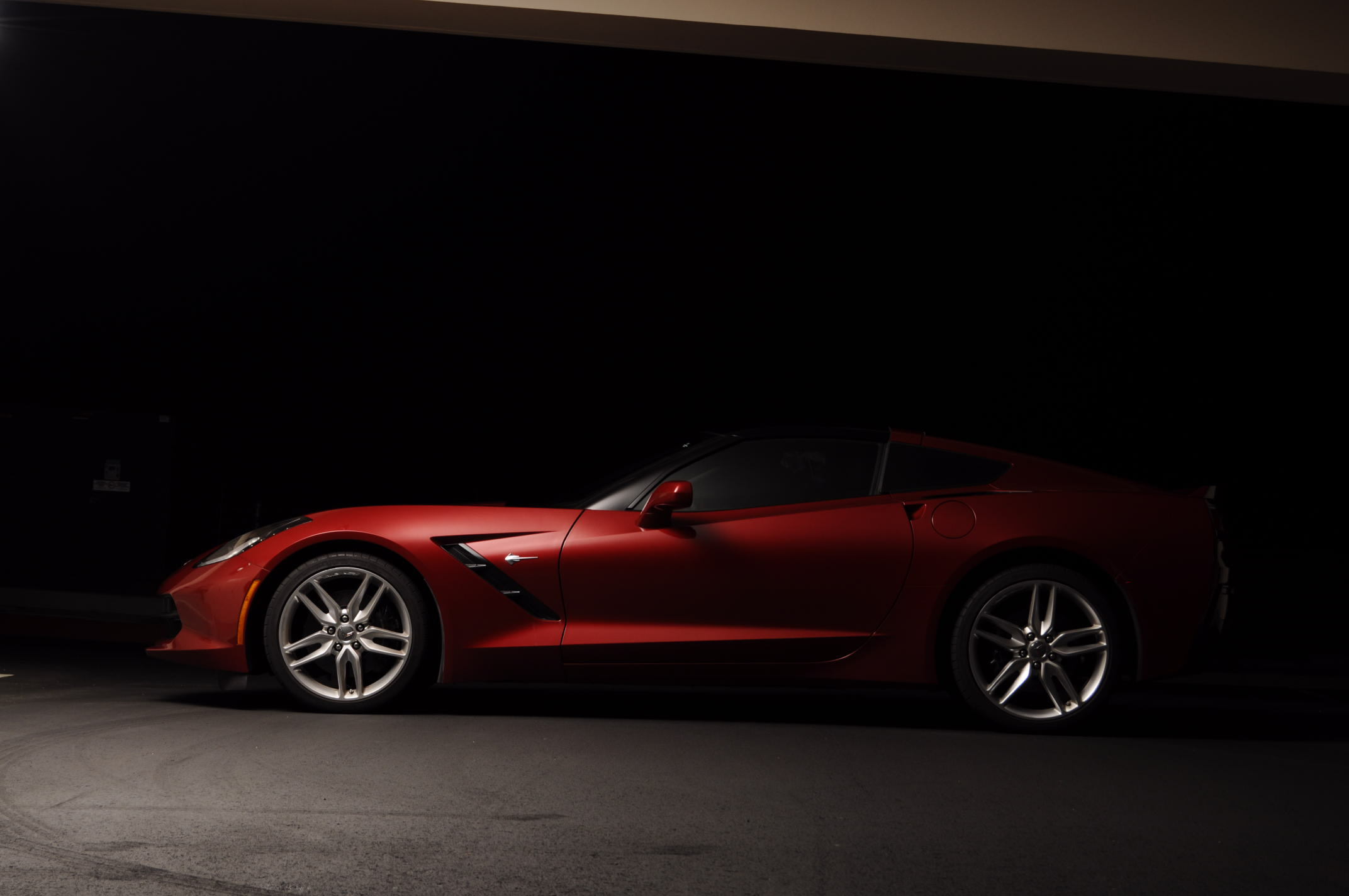 Corvette Shoot! 2015 C7 Crystal Red Tintcoat