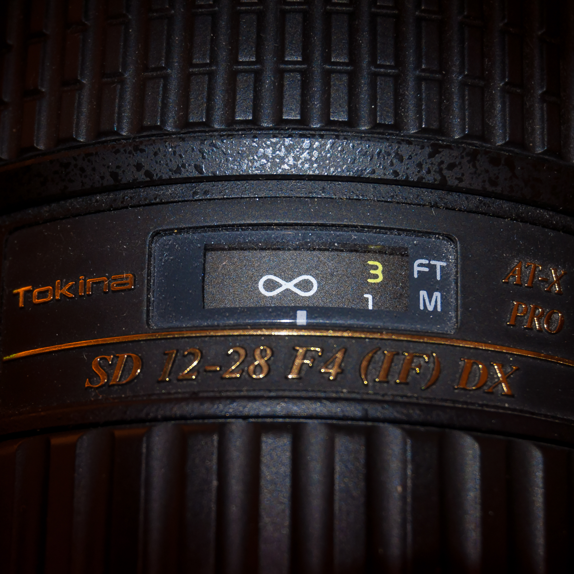 """My Tokina 12-28 focused at approximately 10 feet away at 12mm, which I find to be a nice """"sweet spot"""" where everything from small bathrooms, to exteriors, to kitchens will all be in focus. On many occasions, I leave my lens on this setting for entire shoots and everything looks great."""