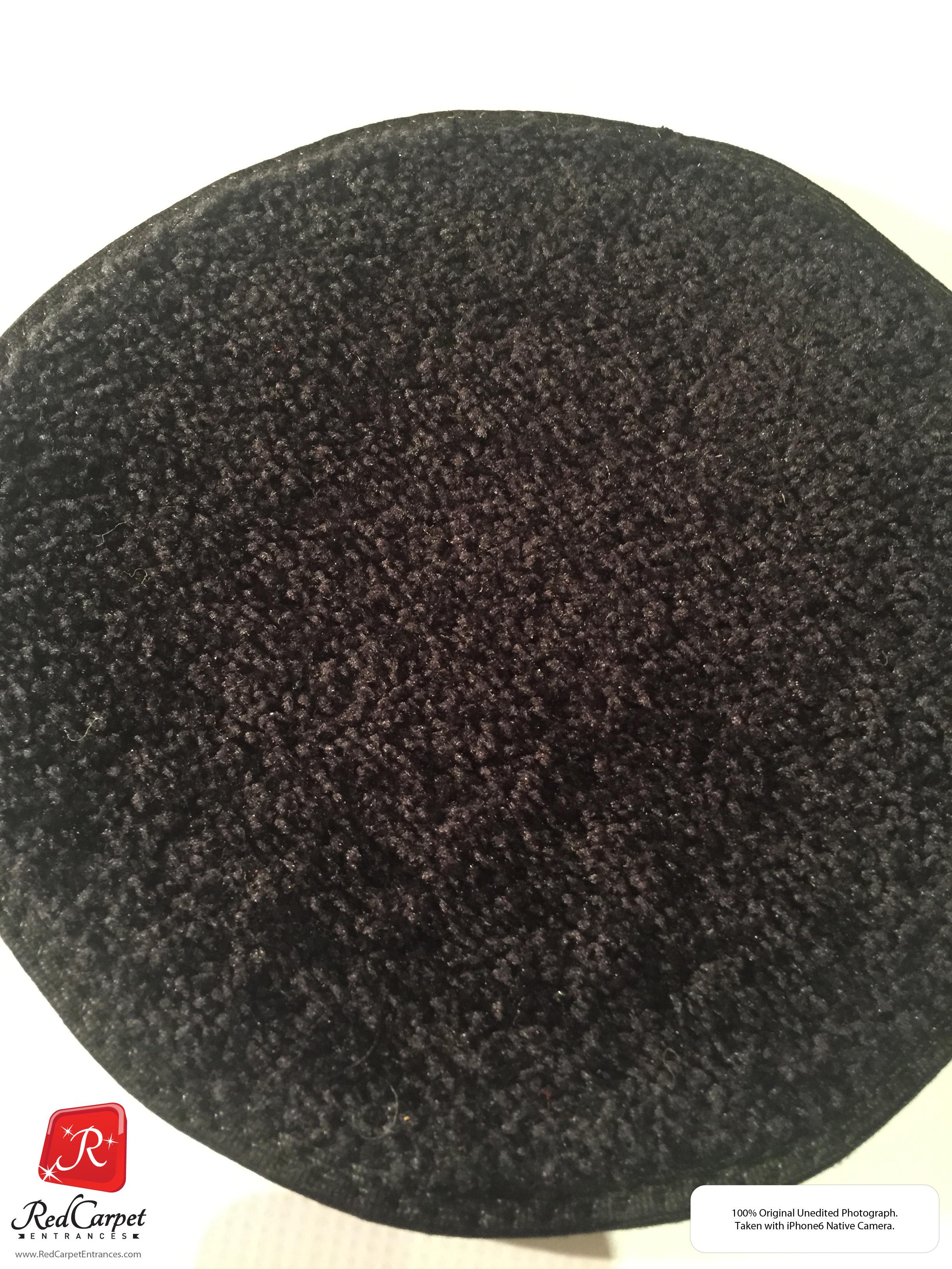 Custom Black Carpet