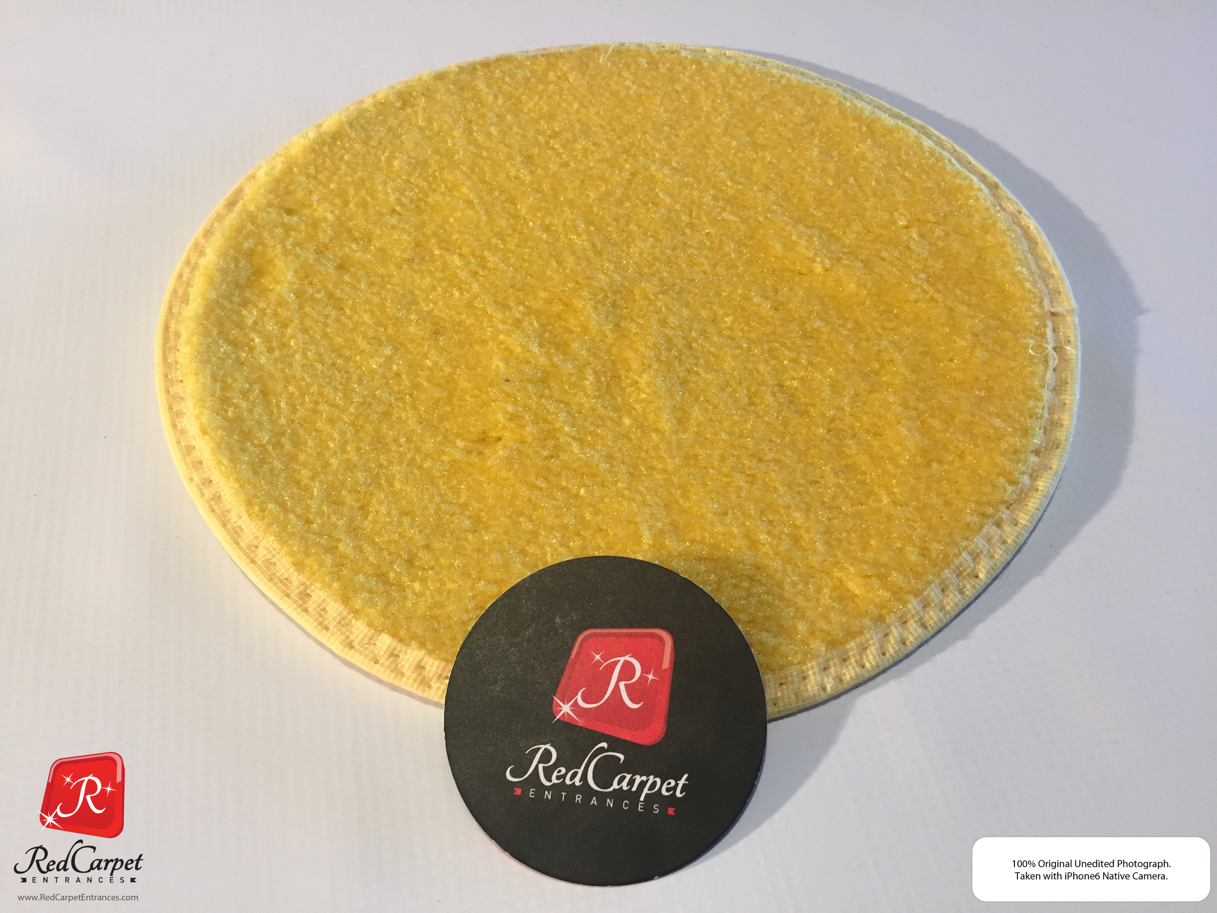 Yellow Event Carpet