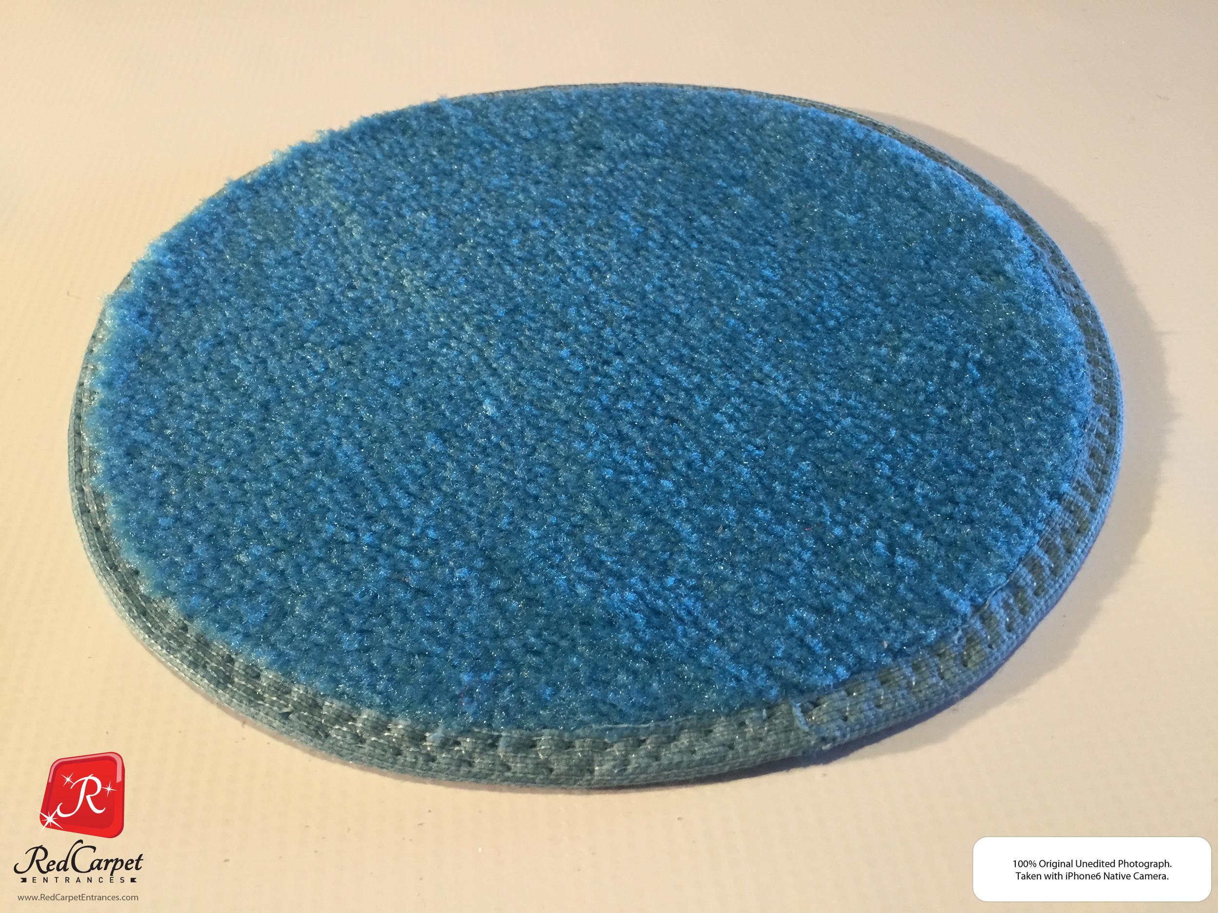 Light Blue Event Carpet