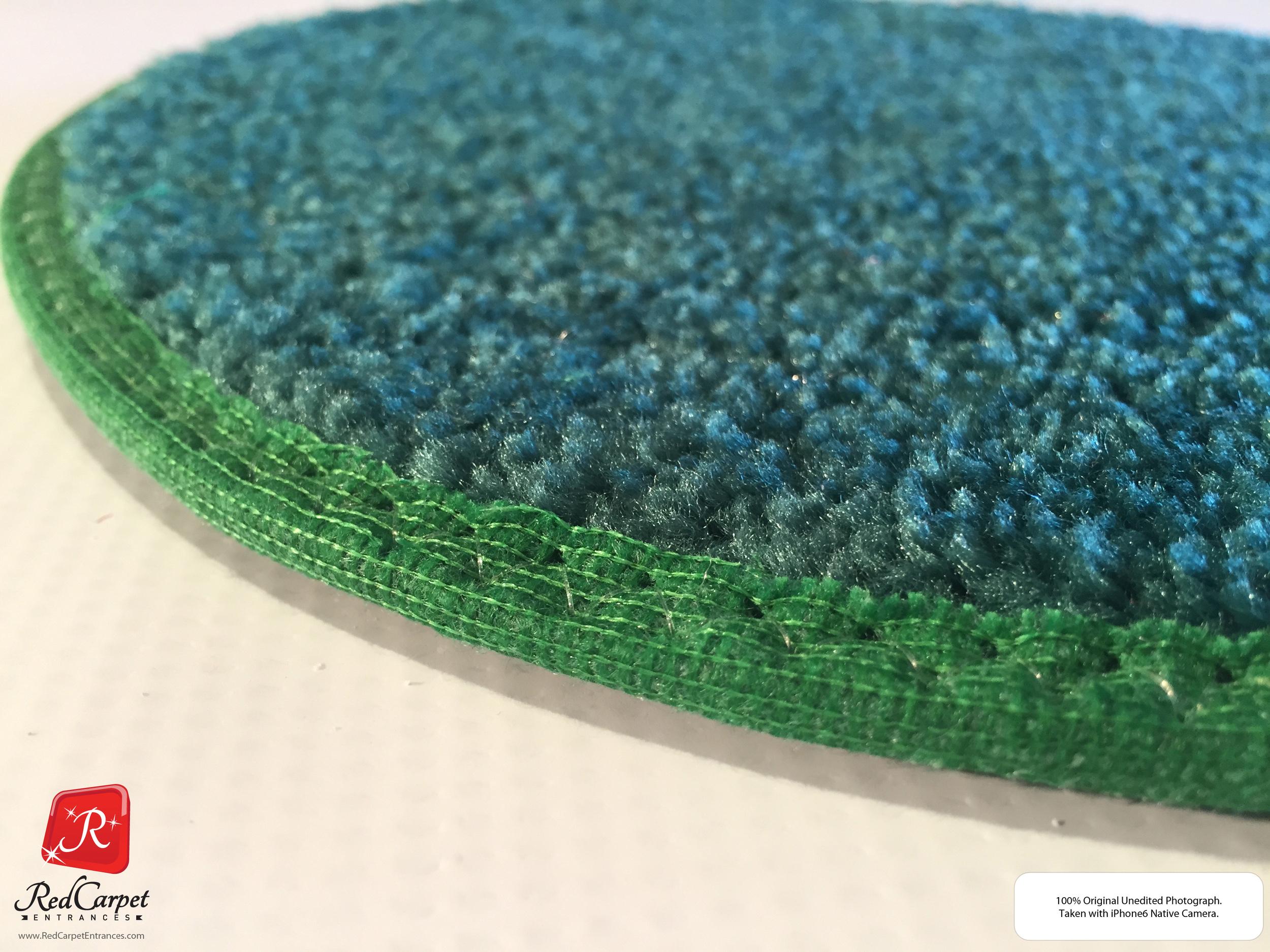Green Carpet Runner Rug
