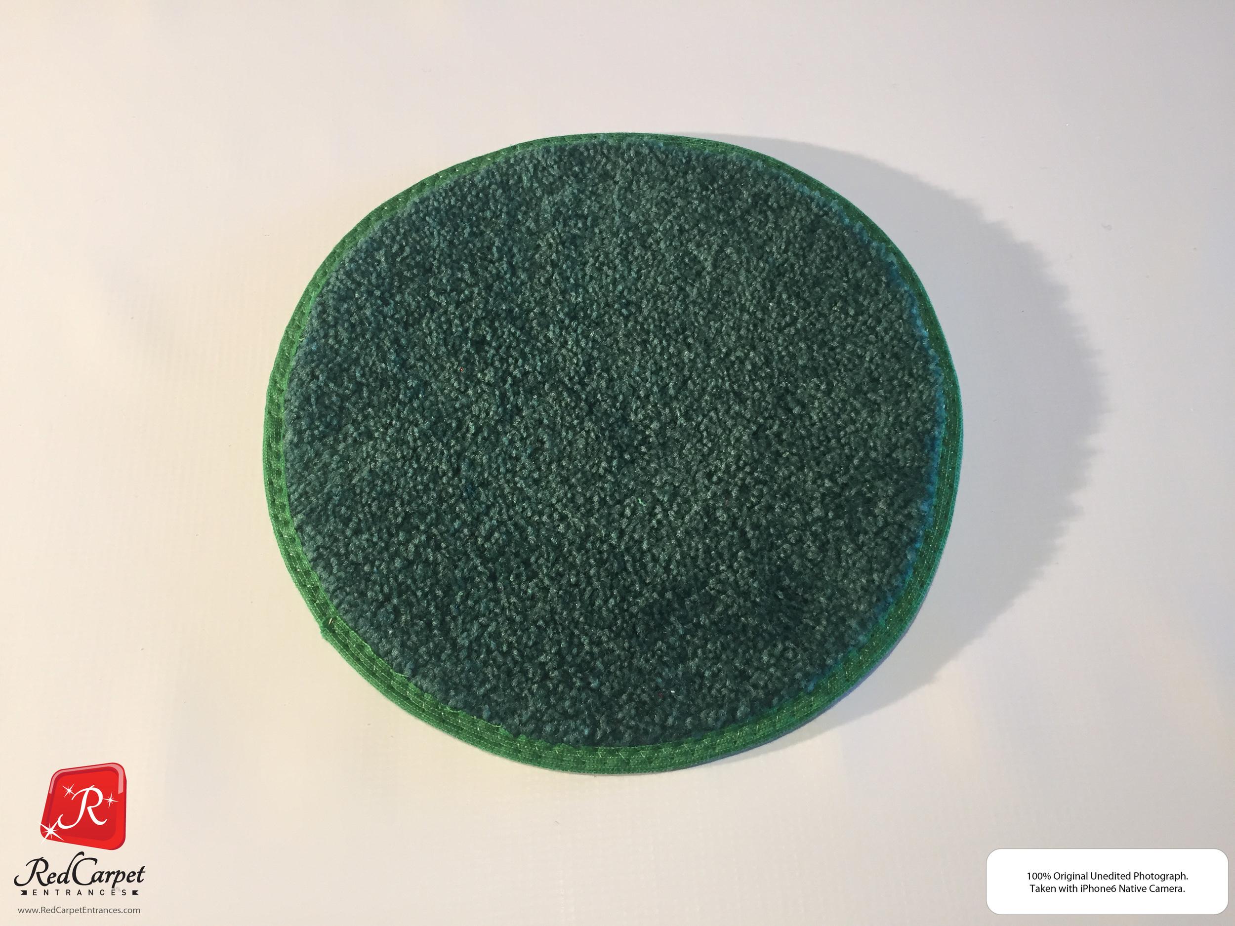 Green Runner Rug