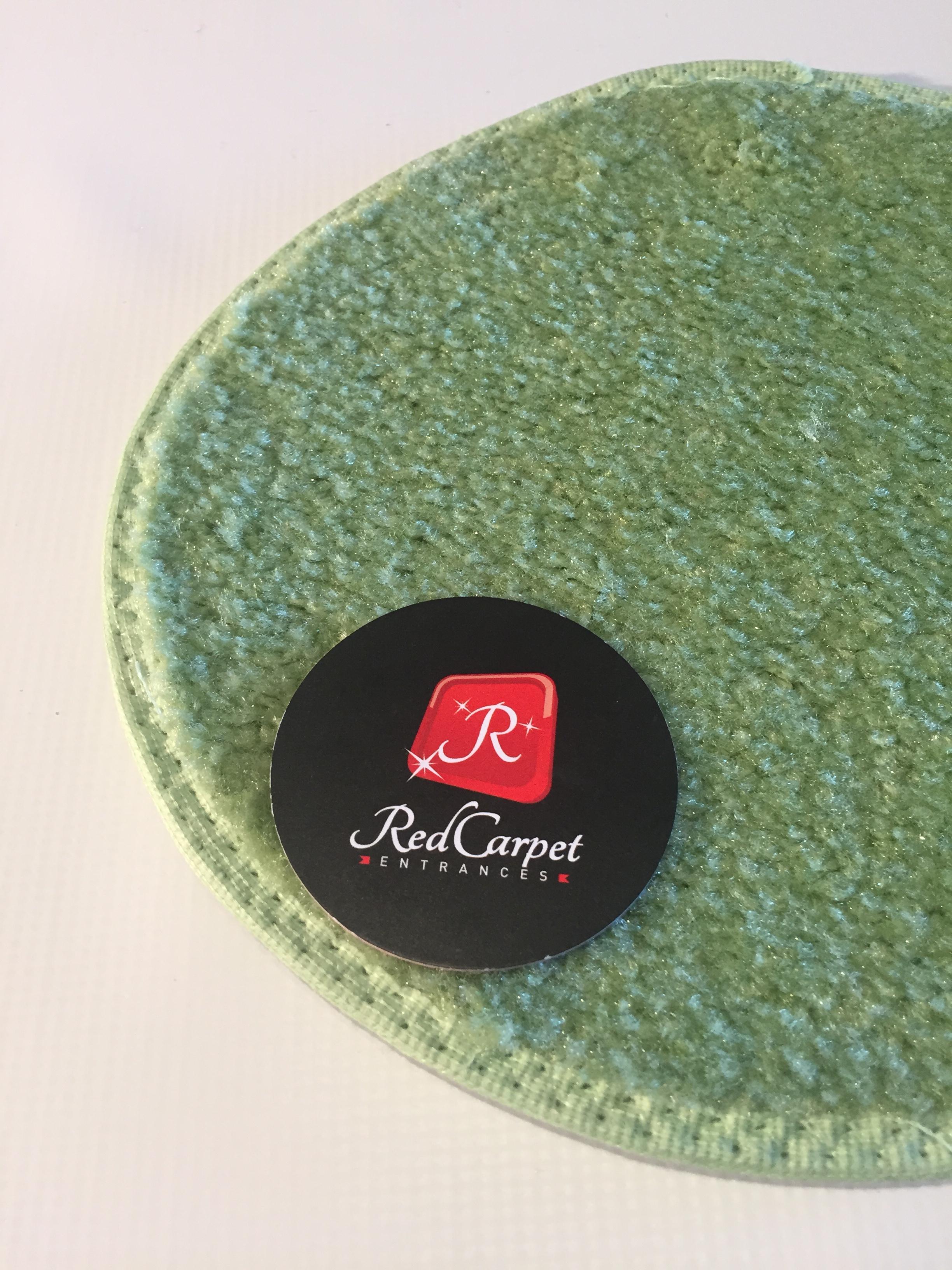 Light Green Event Carpet
