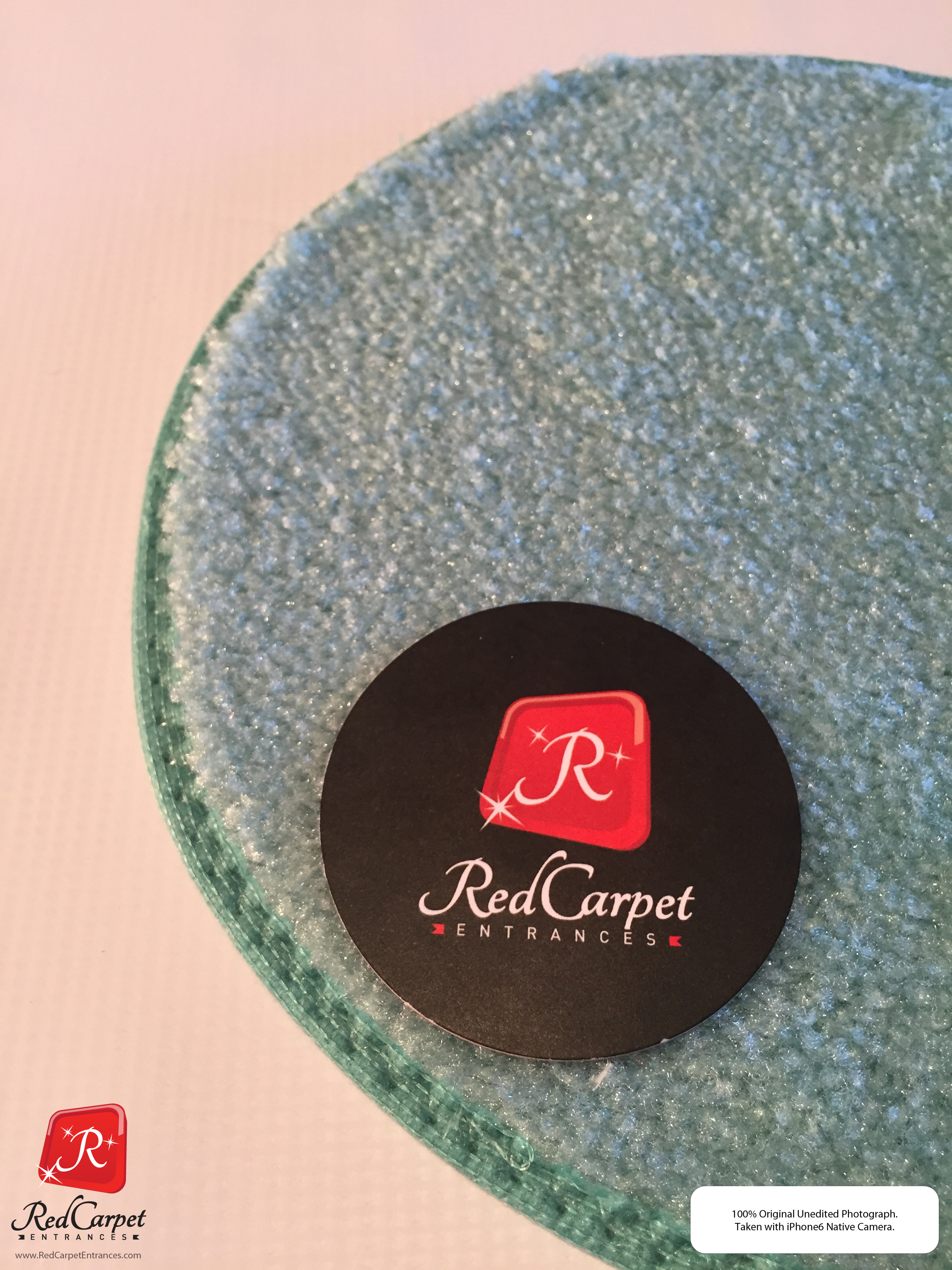 Turquoise carpet runners