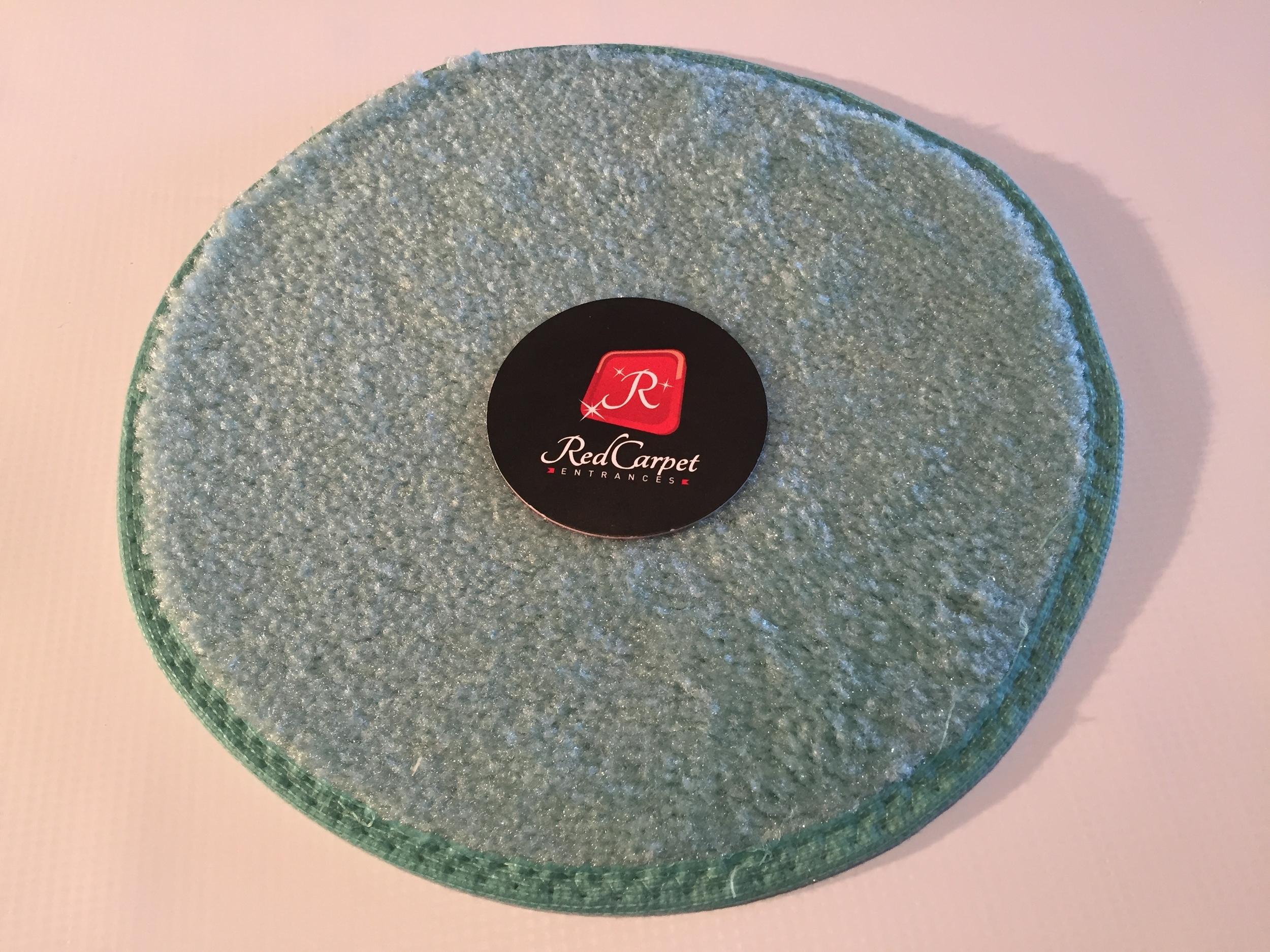 turquoise event carpet