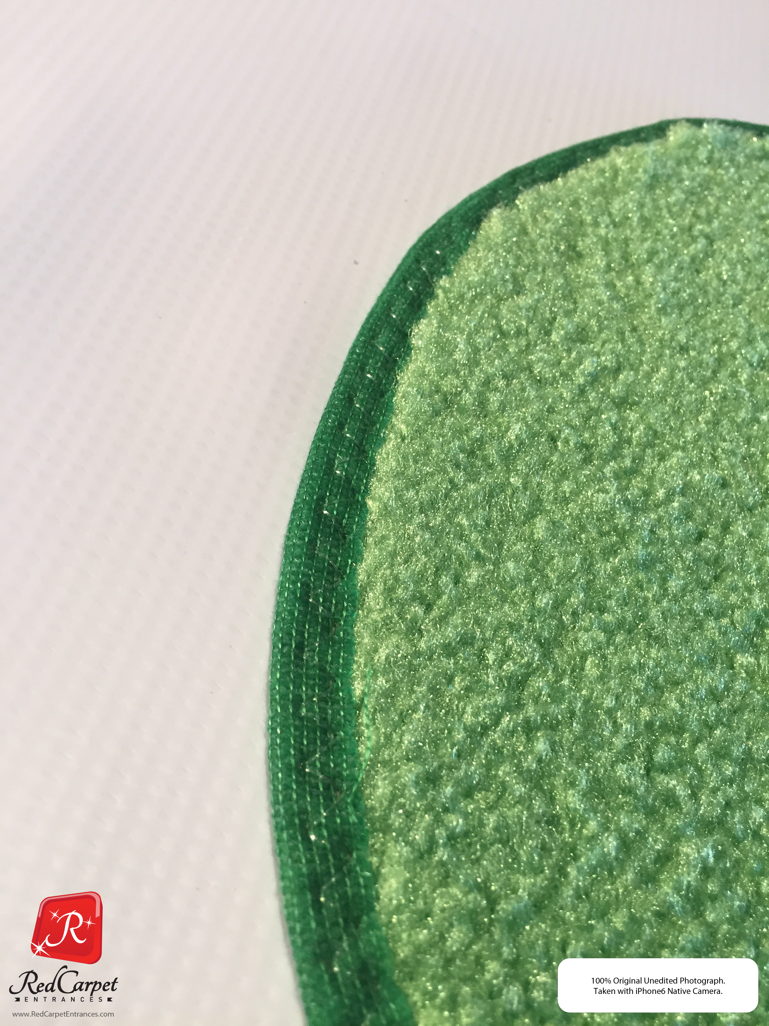 Bright Green Carpet Runners