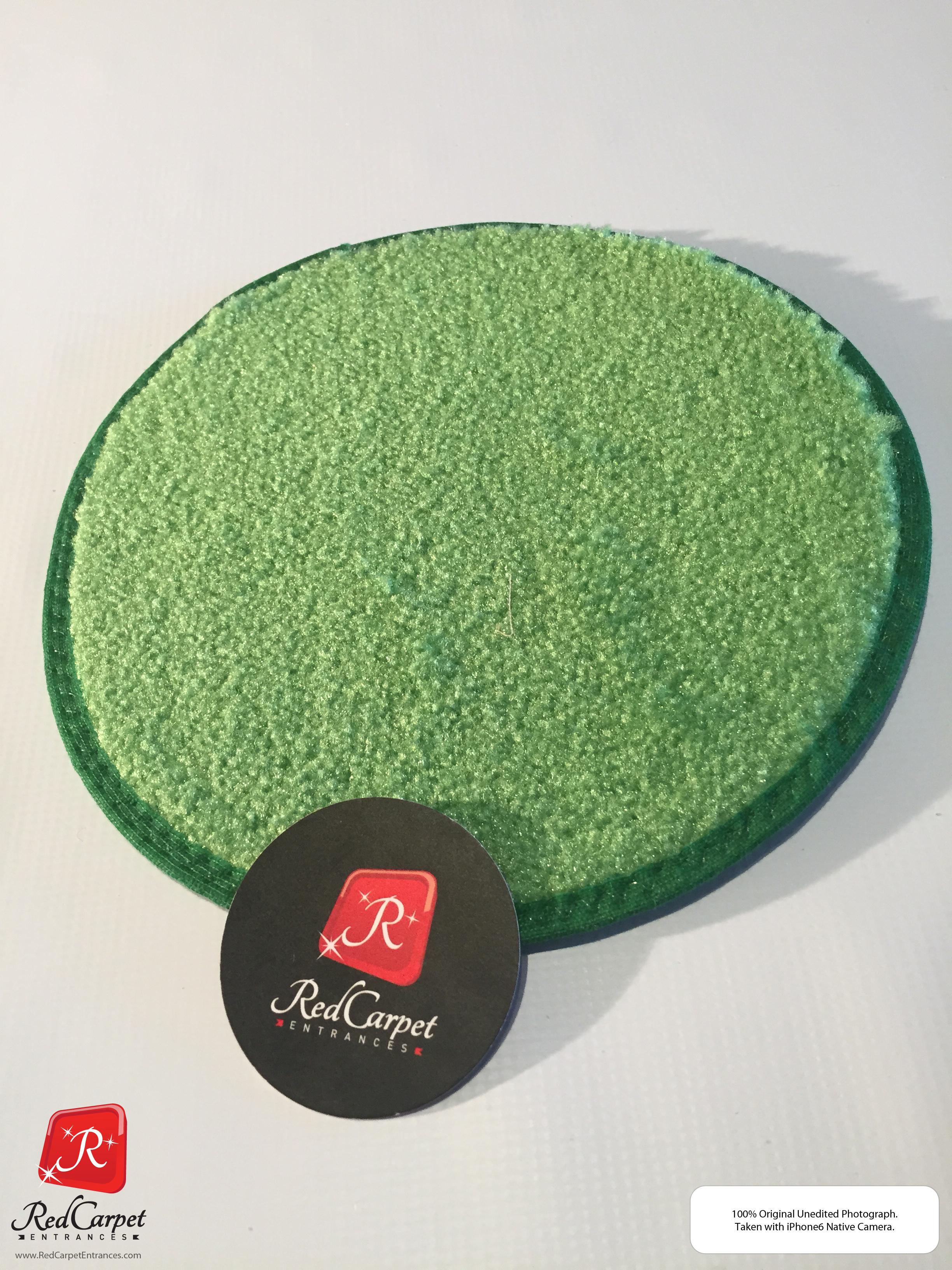 Lime Green Event Carpet