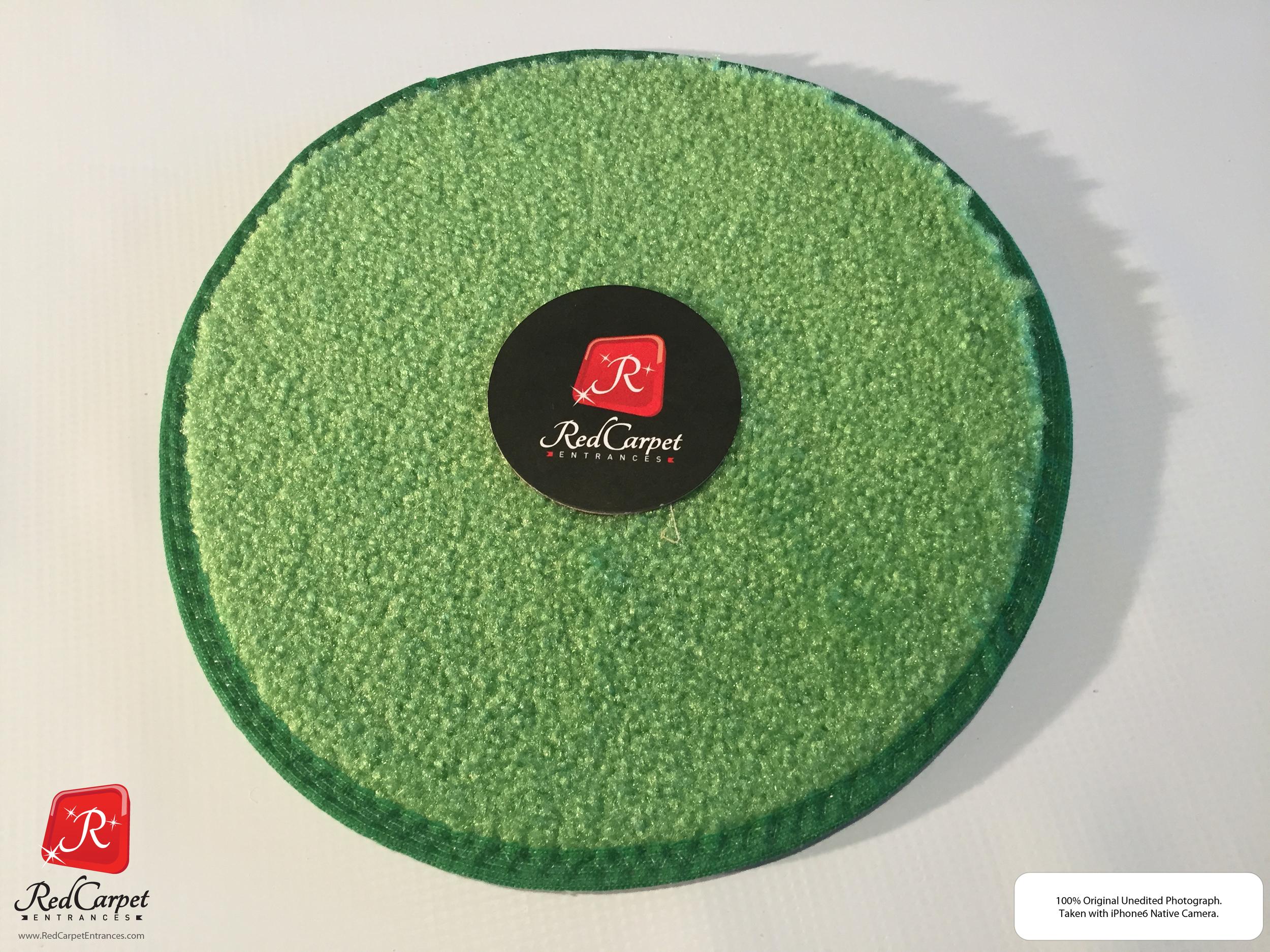 Lime Green Runner Rug