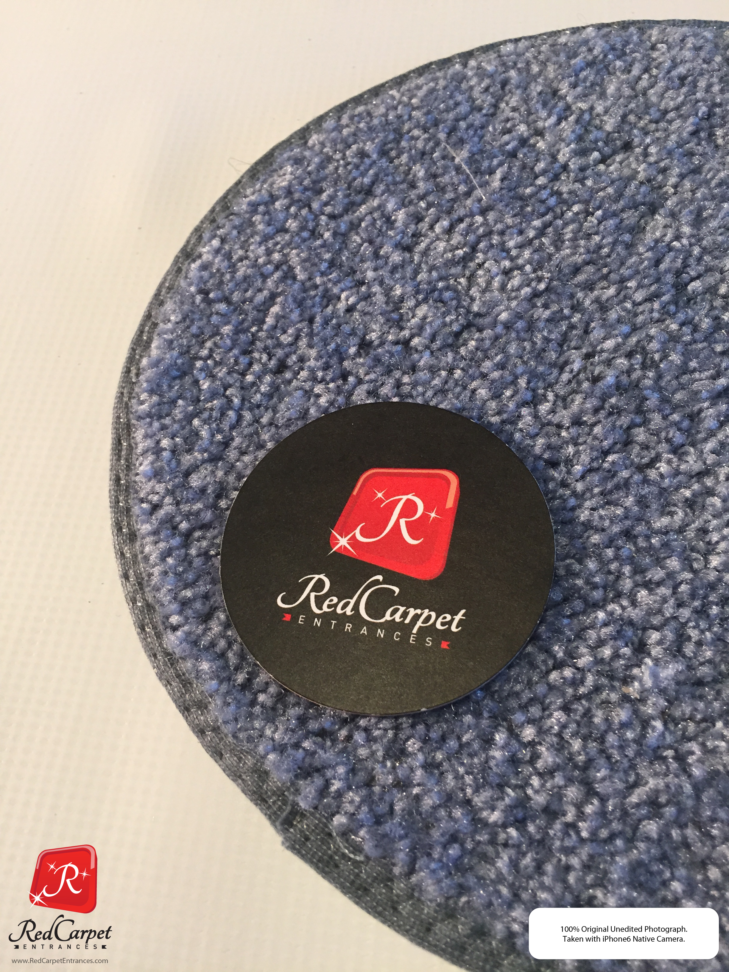 Blue Gray Event Carpet
