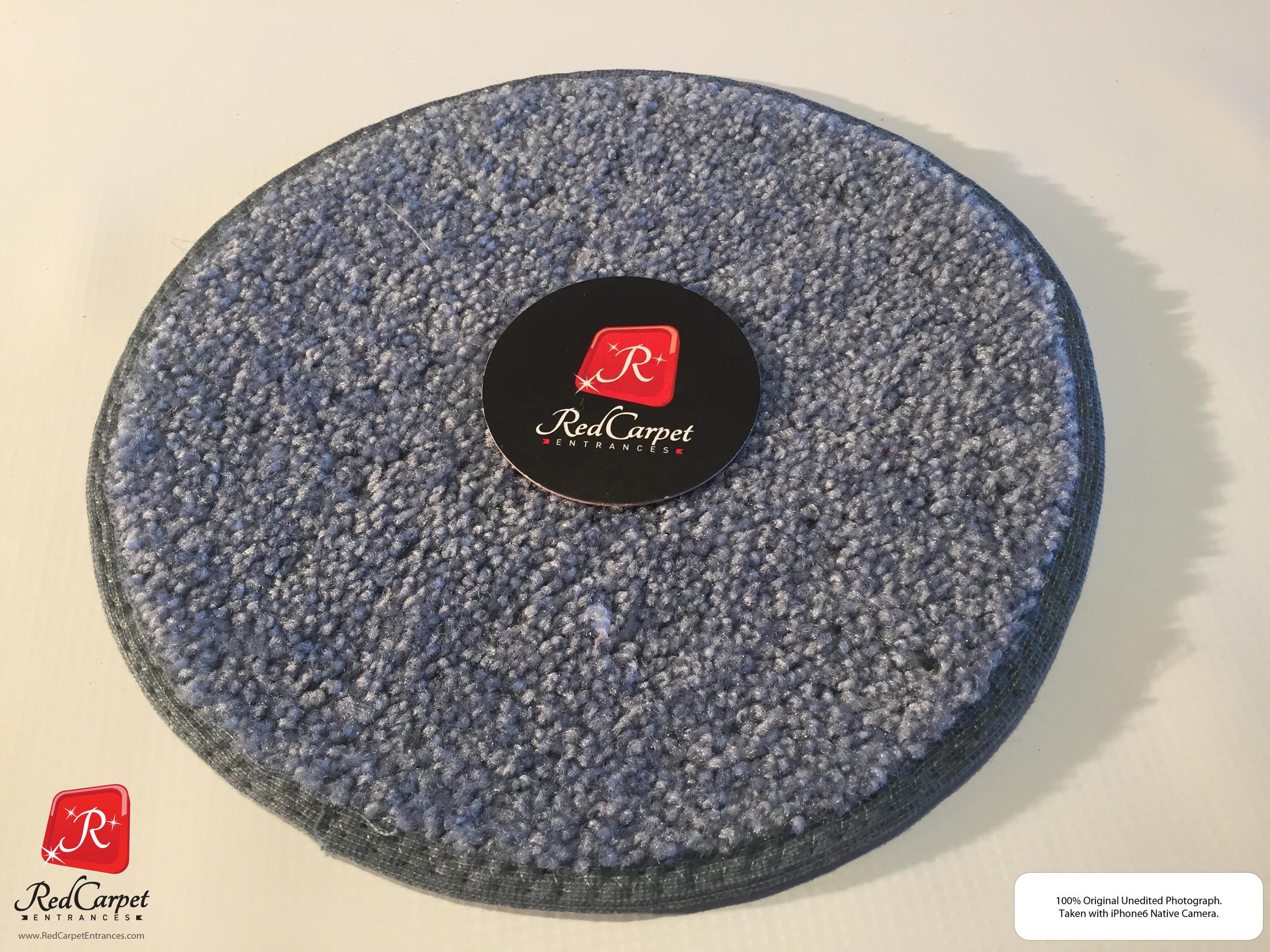 Blue Gray Carpet Runner