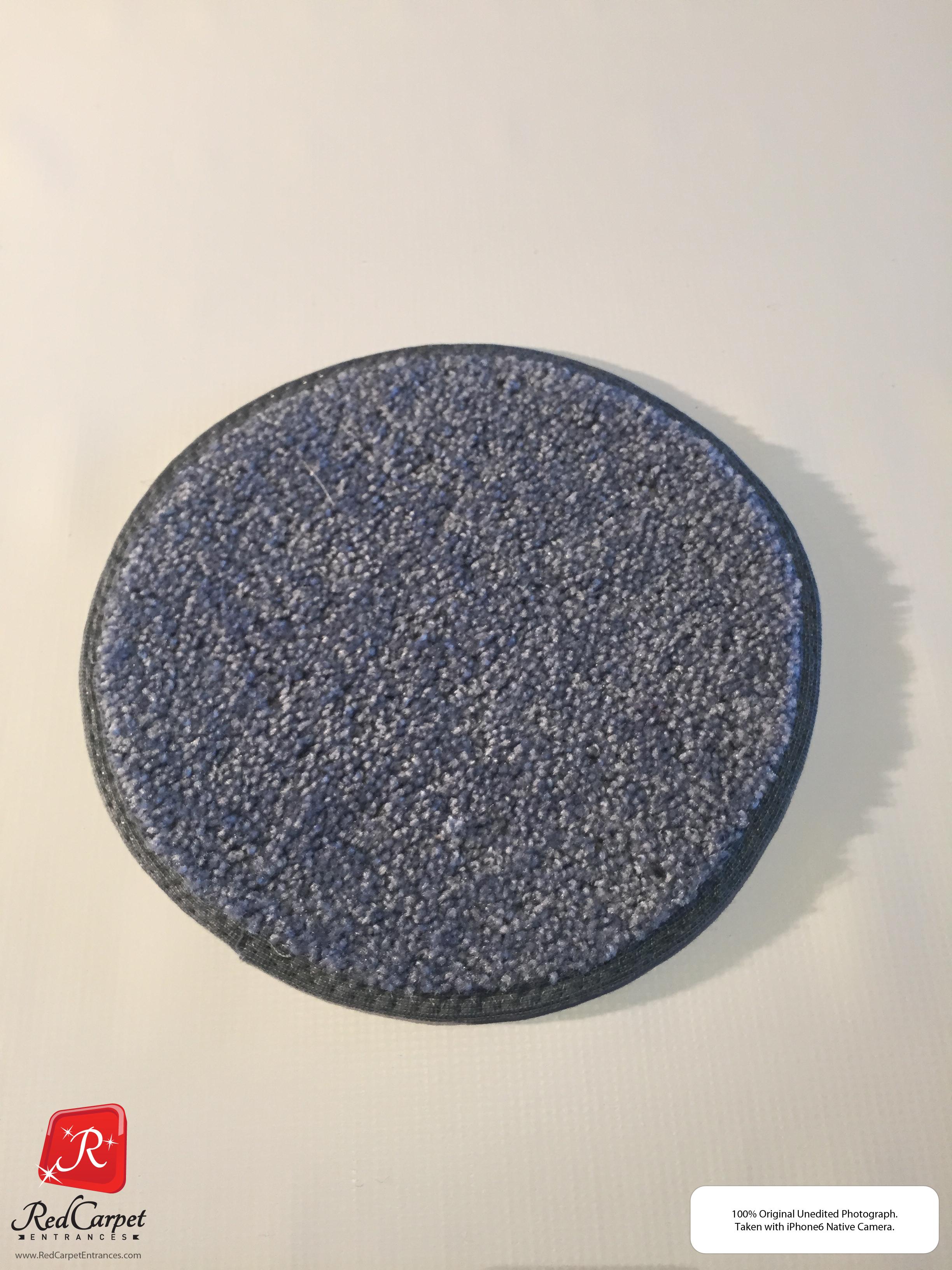 Gray Blue Carpet Runner