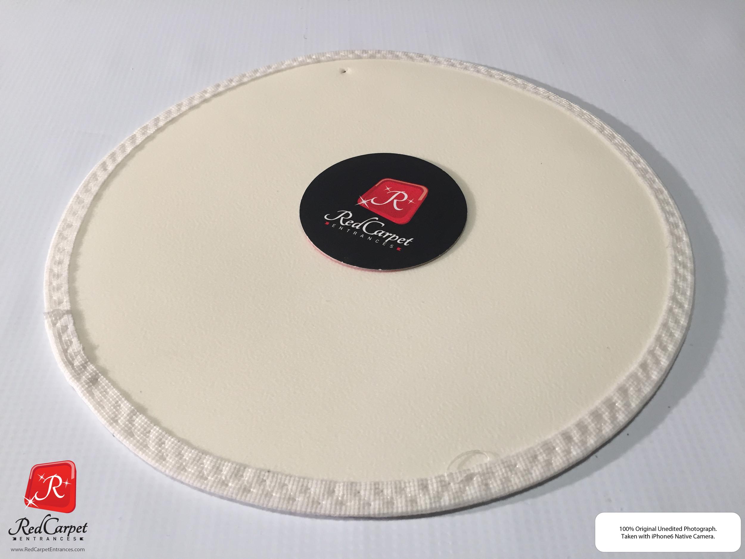 White Vinyl Runner