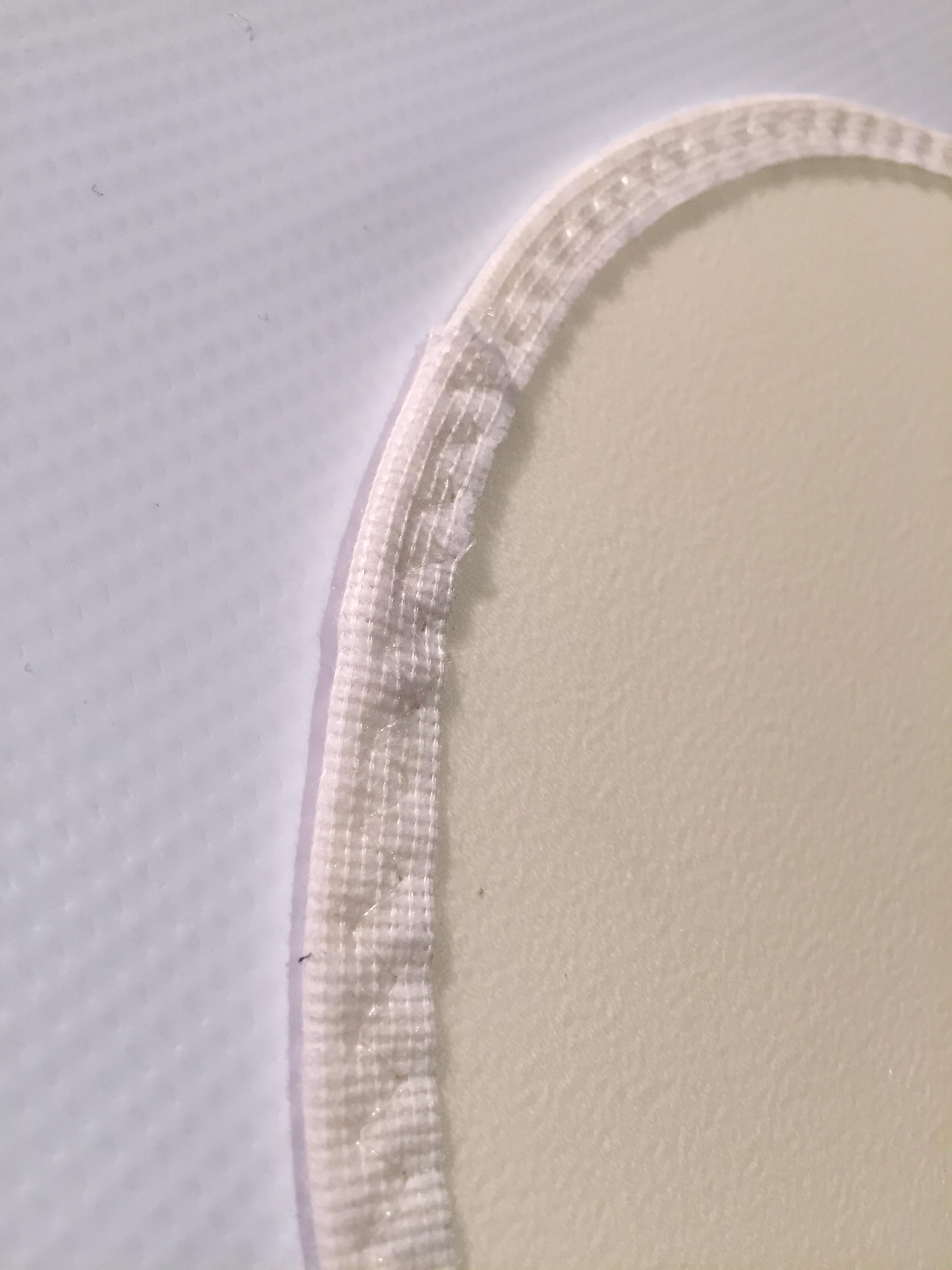 White Vinyl Rug