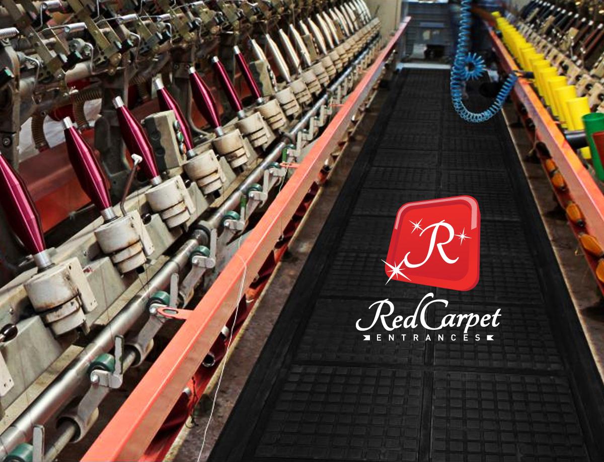 custom floor mat production