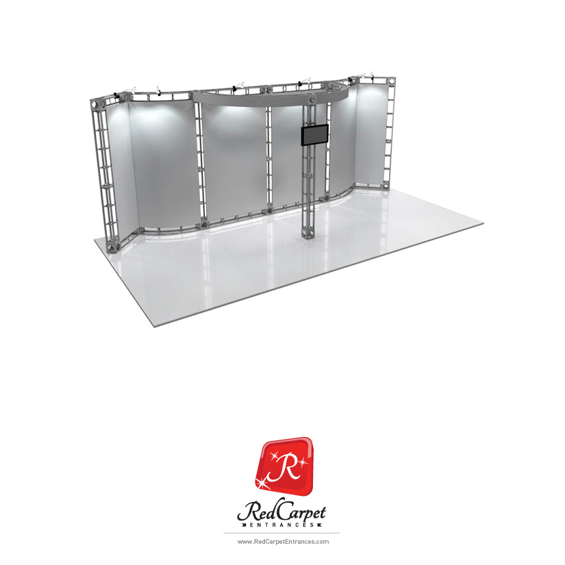 Trade Show Truss Booth 10x20