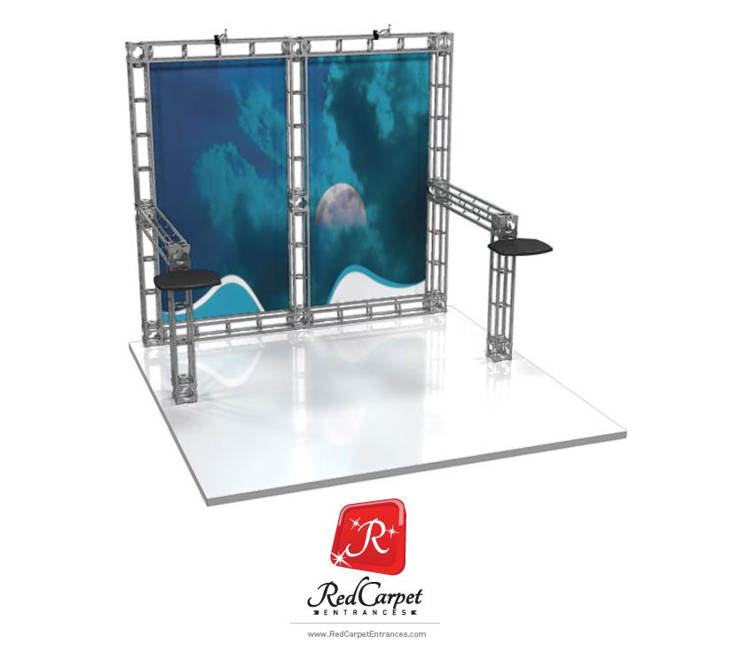 truss exhibit booth