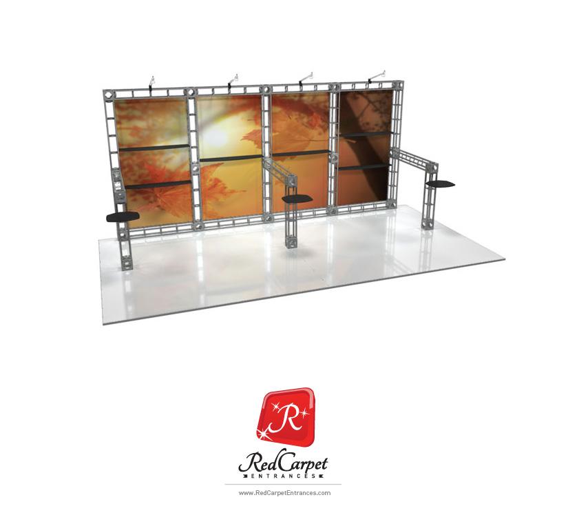 10x20 Truss Booth