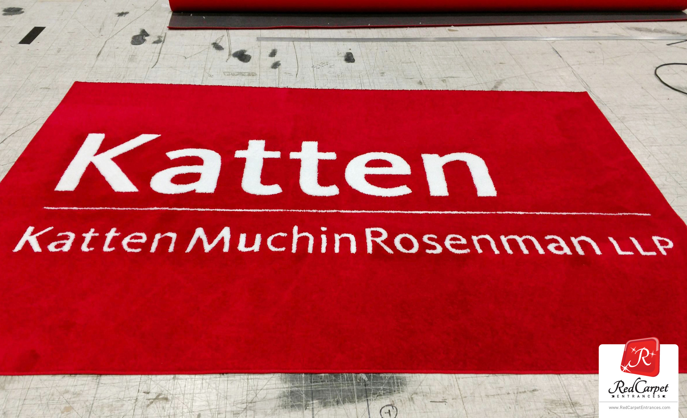 custom logo rug