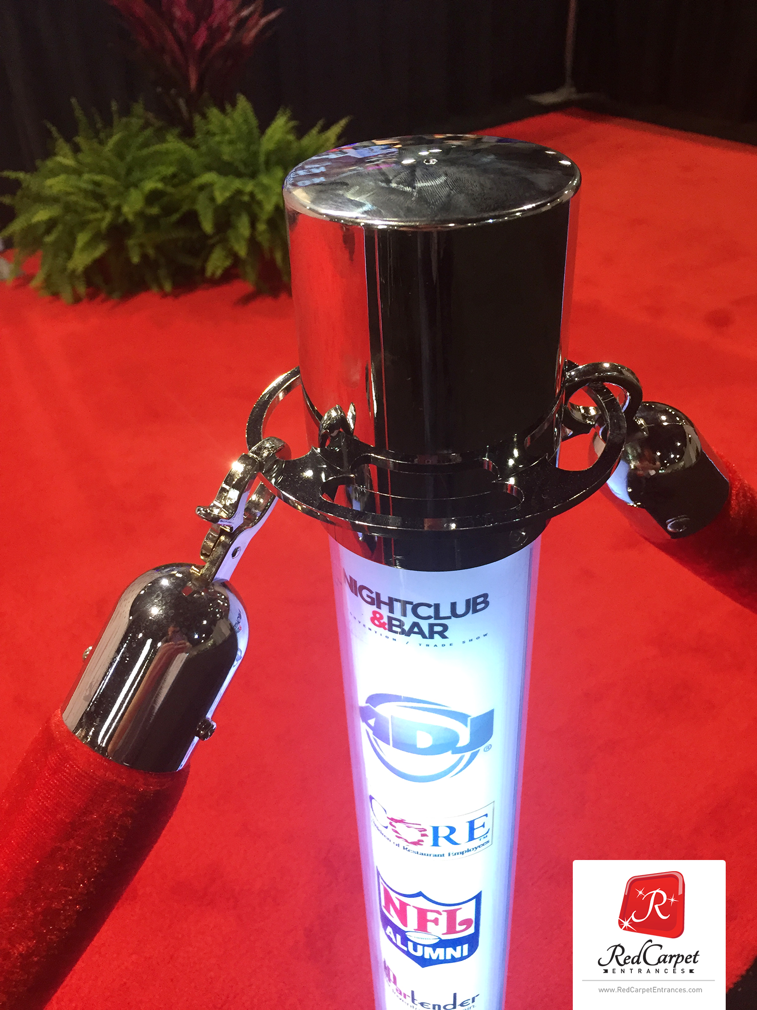 Customize your LED Stanchion for your next special event!