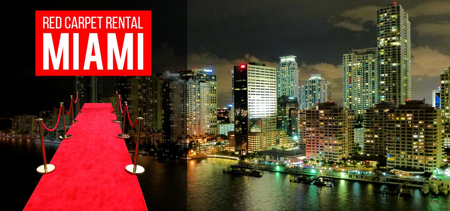 Red Carpet Rental Miami