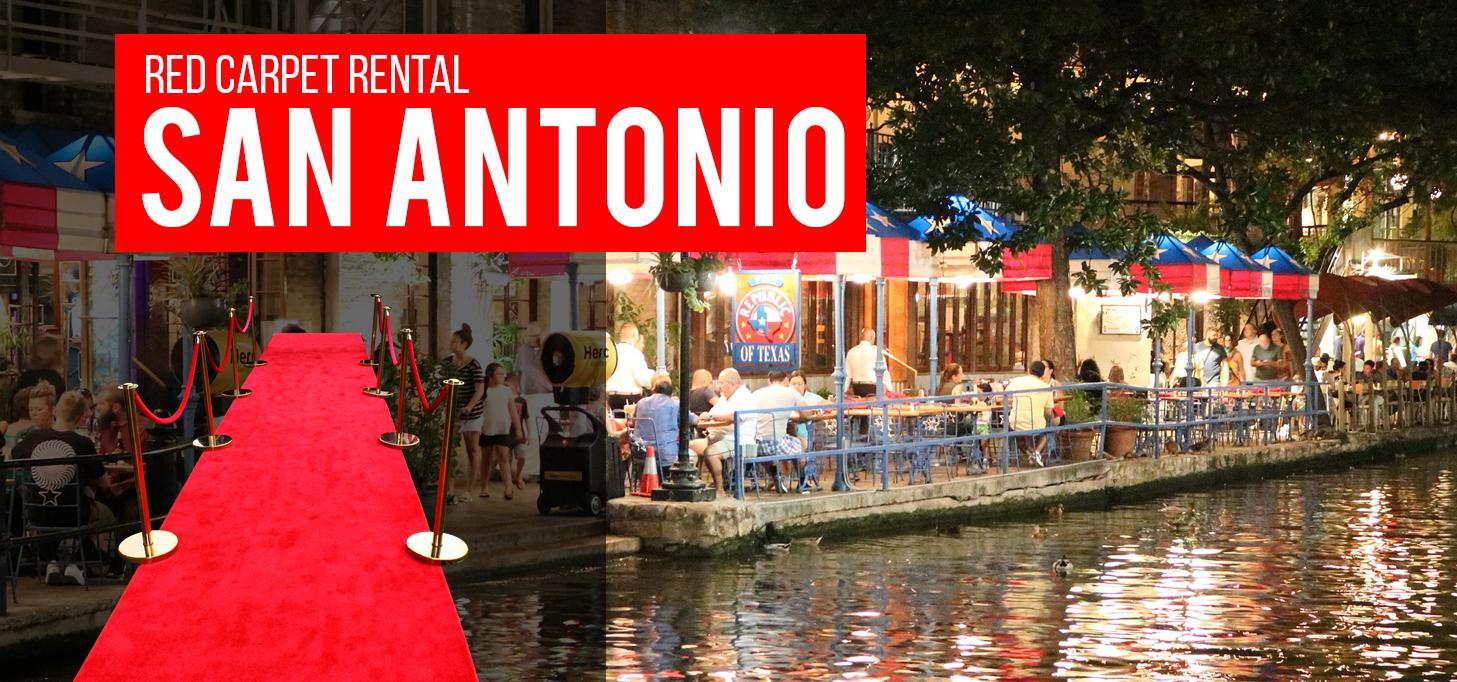 Red Carpet Rental San Antonio