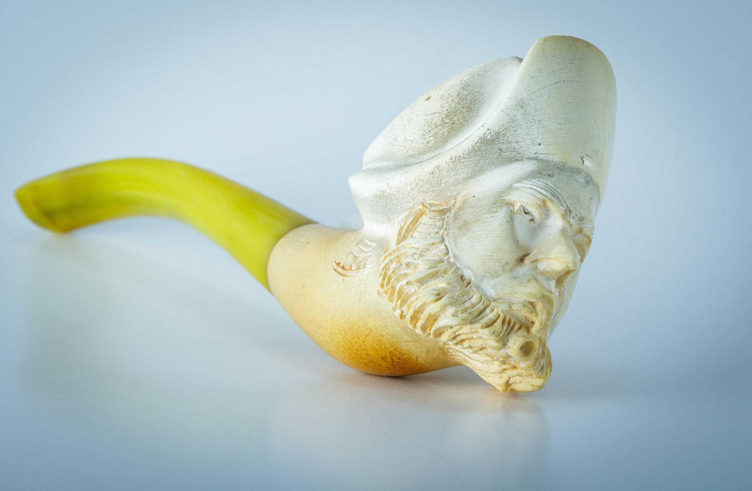 Polish meerschaum pipe