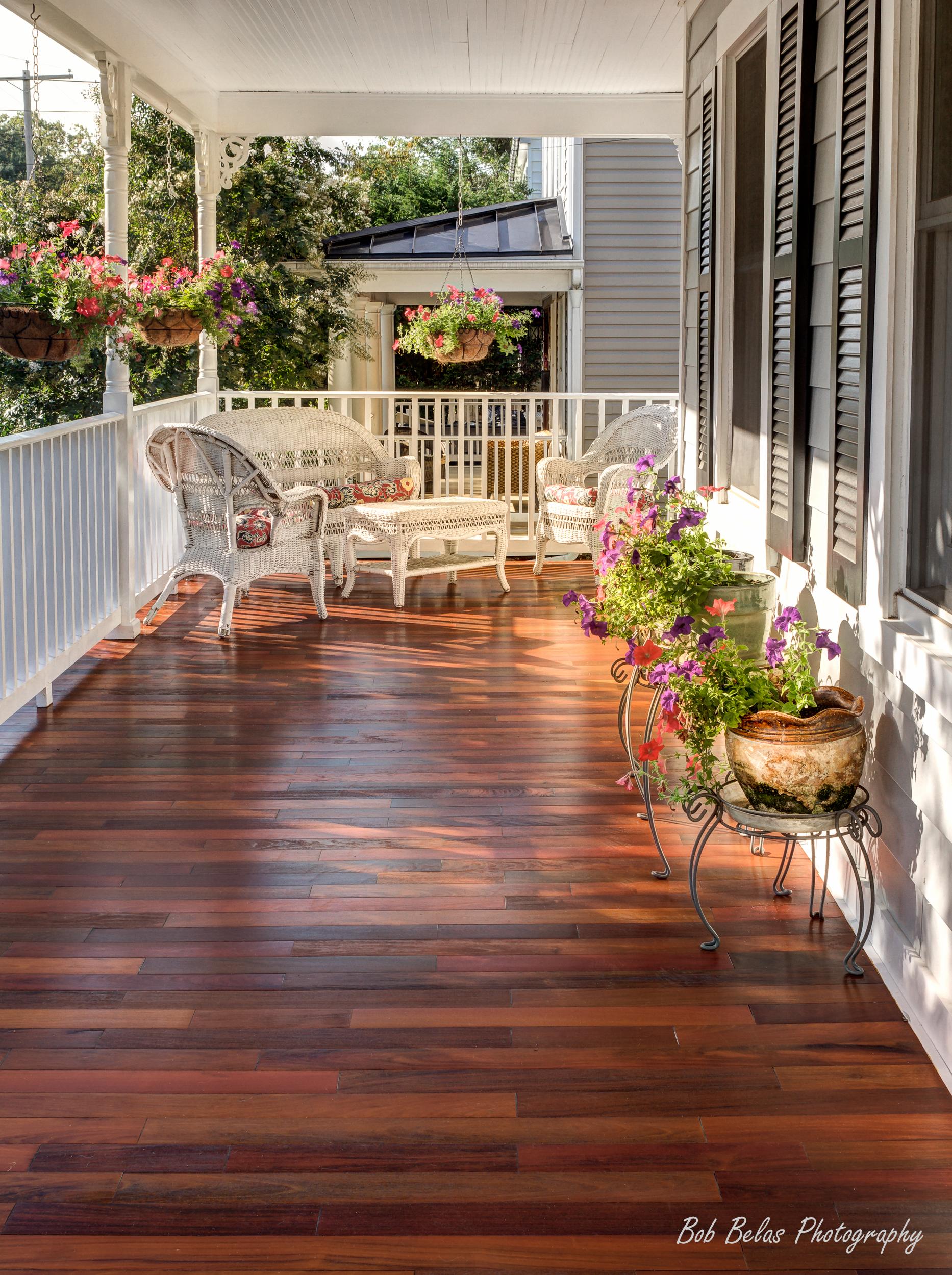 Ipe porch floor, Catonsville.