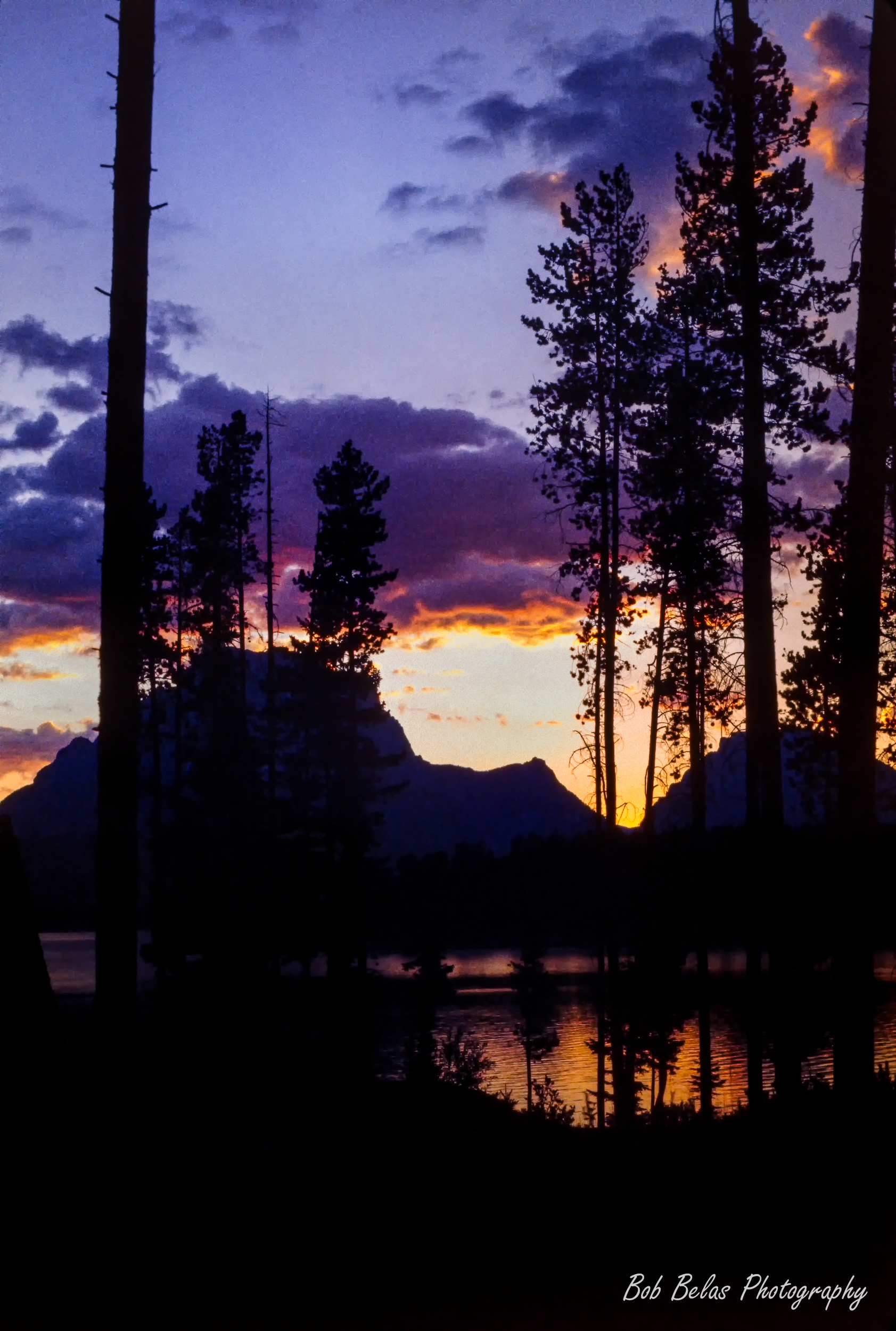 Sunset on Jackson Lake, Grand Teton NP