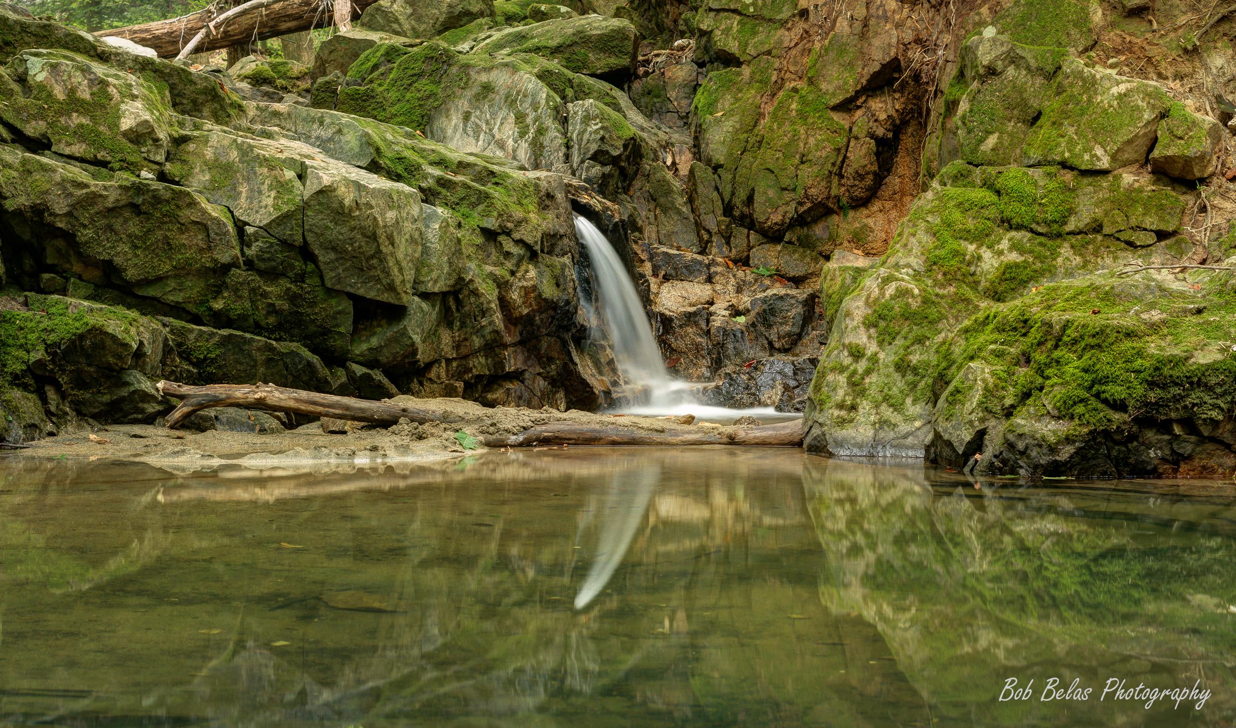 No. 9 Trolley Trail Waterfall, Landscape