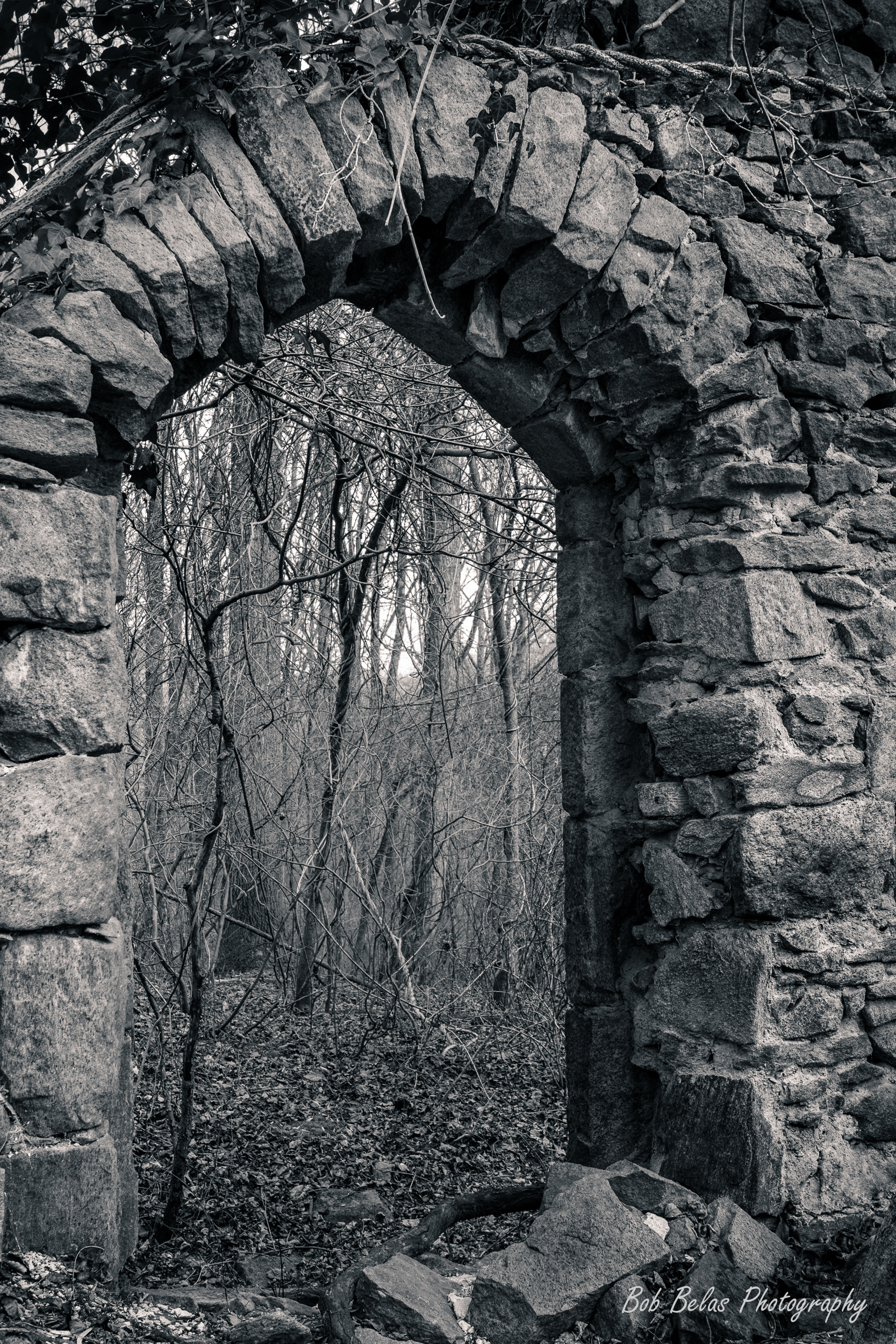 St Stanislaus Arch 1, monochrome