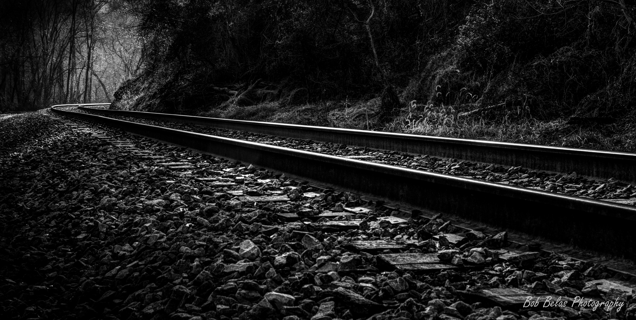 Hollofield Tracks, monochrome