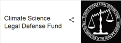 Climate Science Legal Defense Fund  Protecting Scientists From The Anti-Science Movement