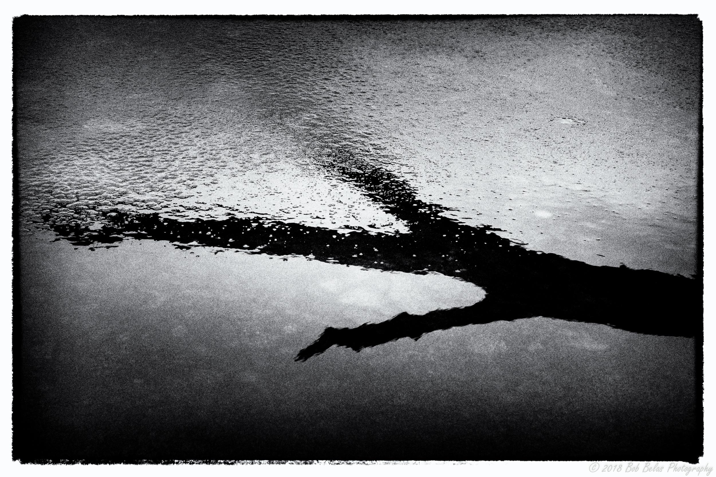 Ice Dream #4, monochrome