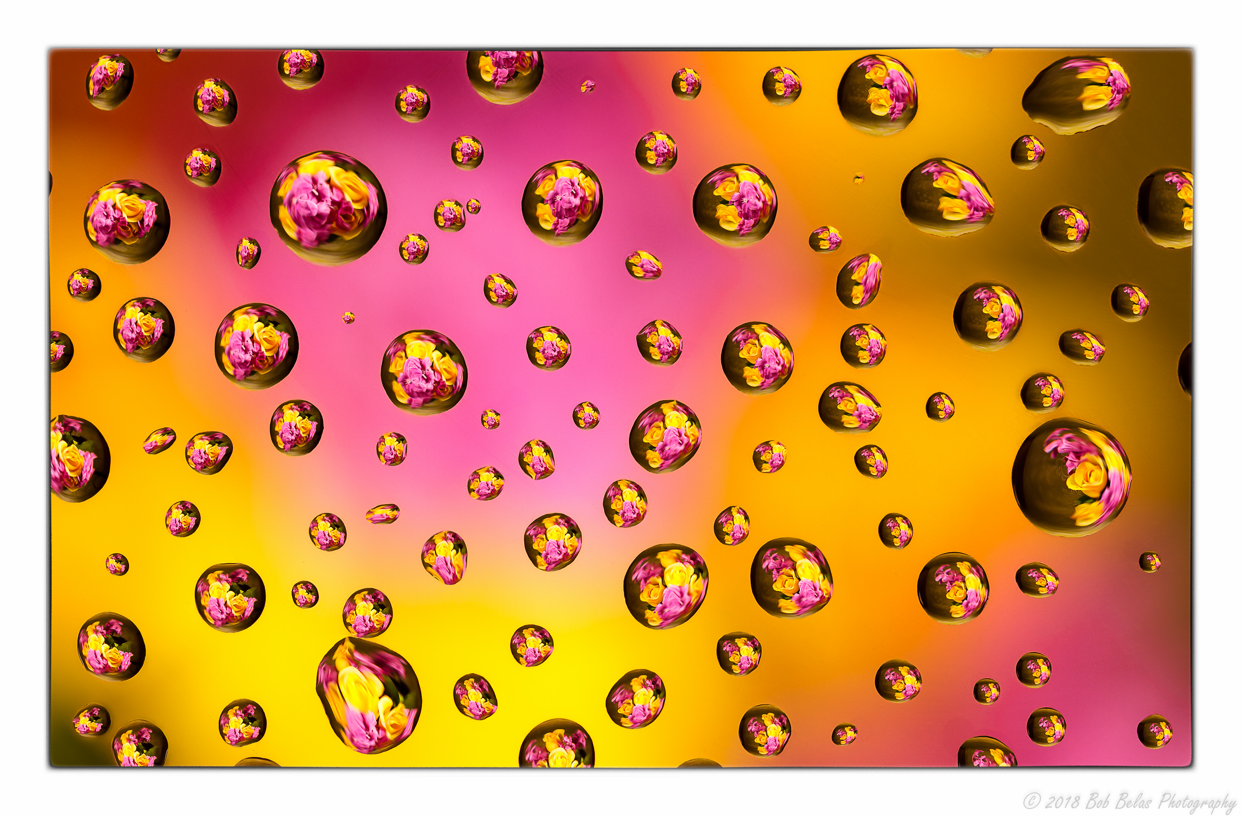 Drop Refraction 2, color