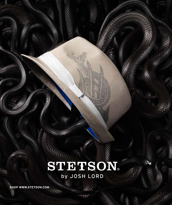 Creative direction & design for 2014 Stetson campaign