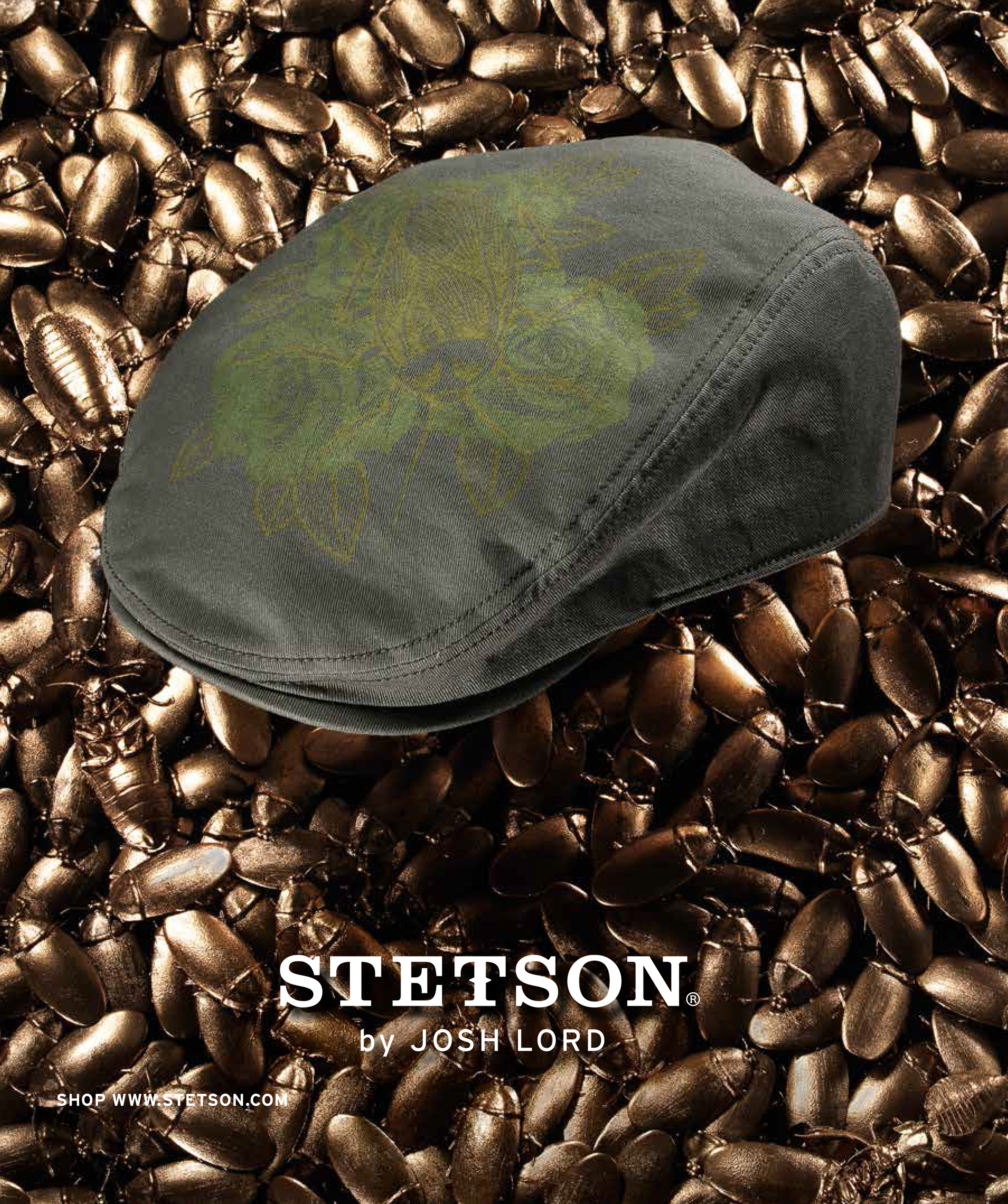 Creative direction & design for 2014 Stetson campaign