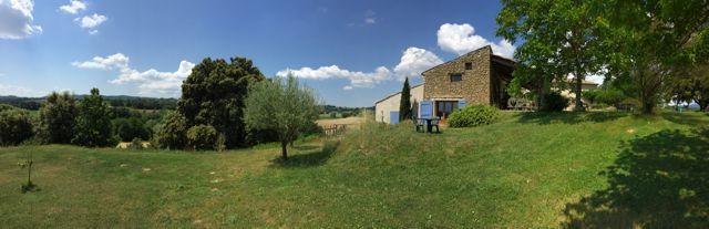 A view of La Campagne Berne, Pierrerue, France