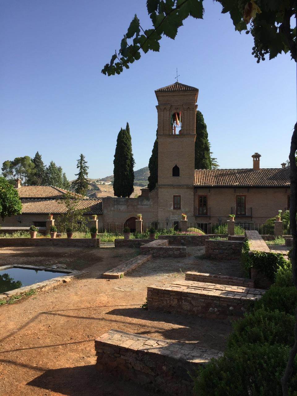 Generaliffe gardens, Alhambra, Granada
