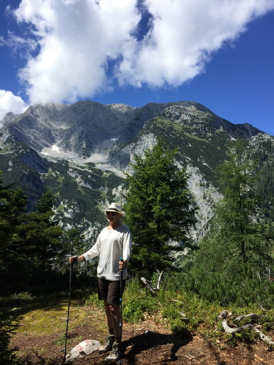 Hiking in the Austrian Alps, near the town of Irdning